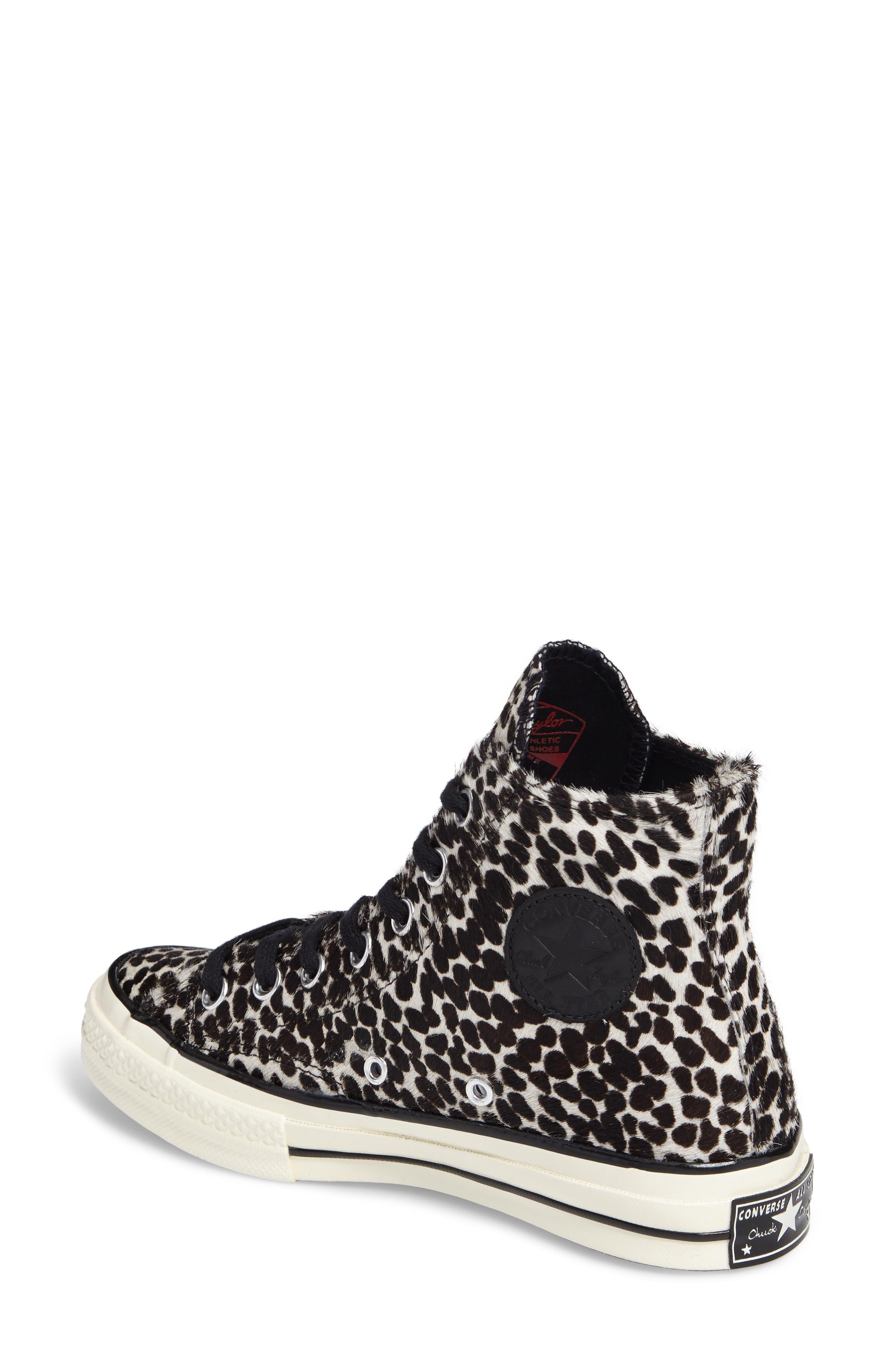 Alternate Image 2  - Converse Chuck Taylor® All Star® 70 Genuine Calf Hair High Top Sneaker (Women)