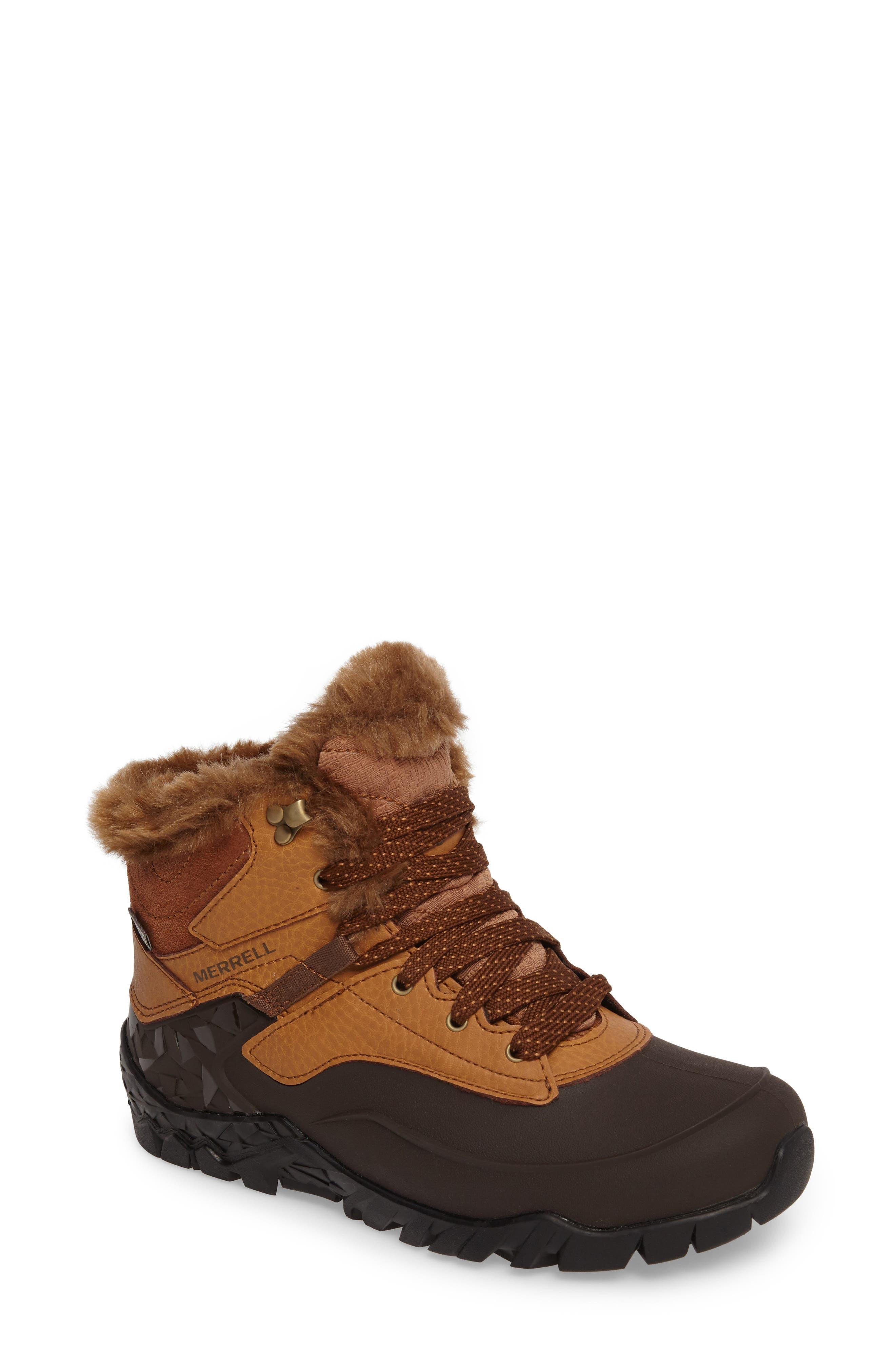 Alternate Image 1 Selected - Merrell Aurora 6 Ice+ Waterproof Boot (Women)