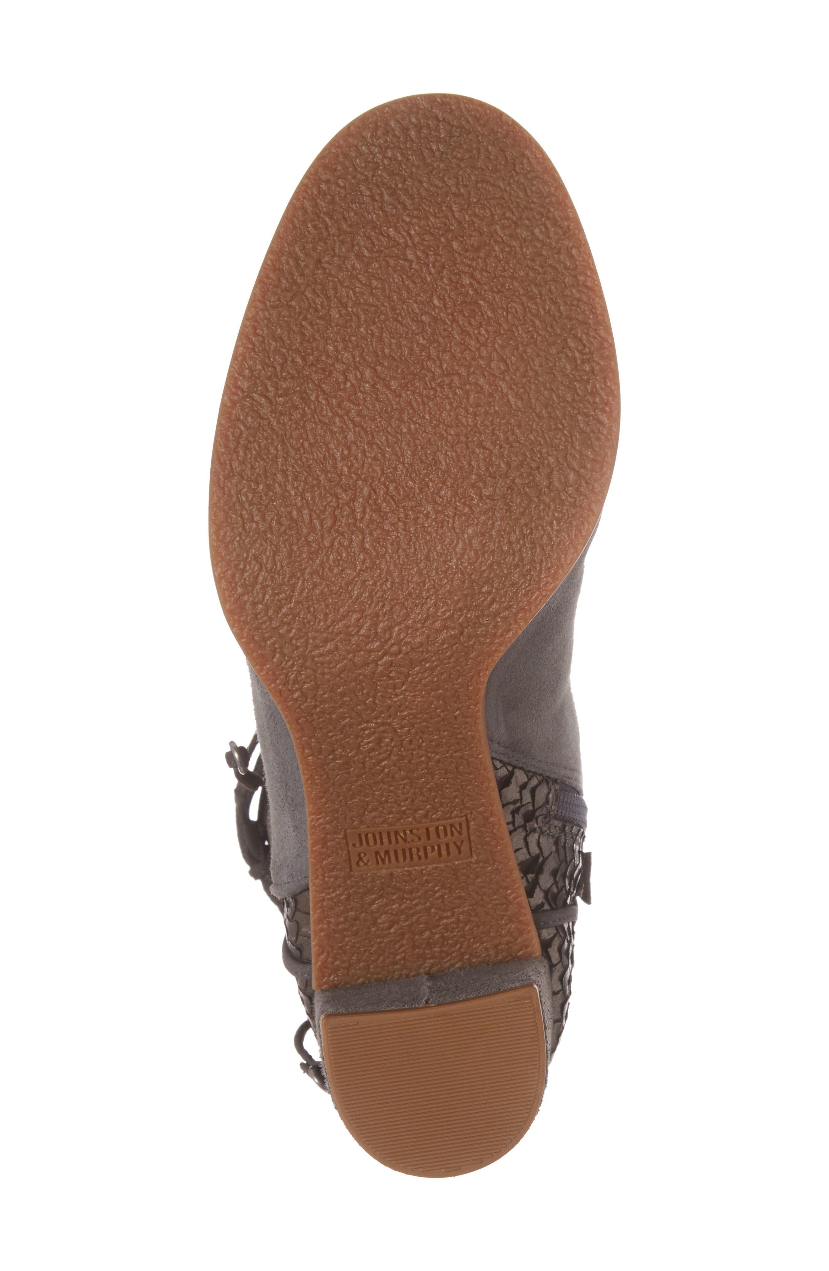 Alternate Image 6  - Johnston & Murphy Adley Ankle Wrap Boot (Women)