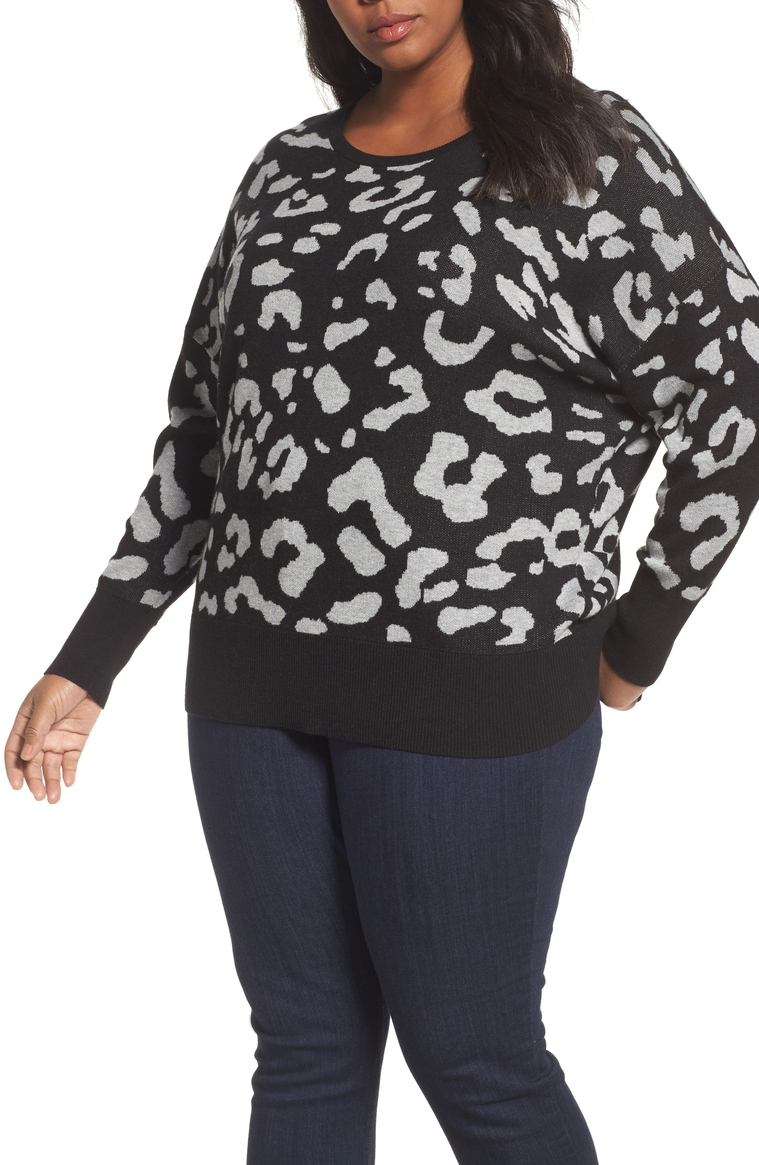 Main Image - Sejour Dolman Sleeve Crewneck Sweater