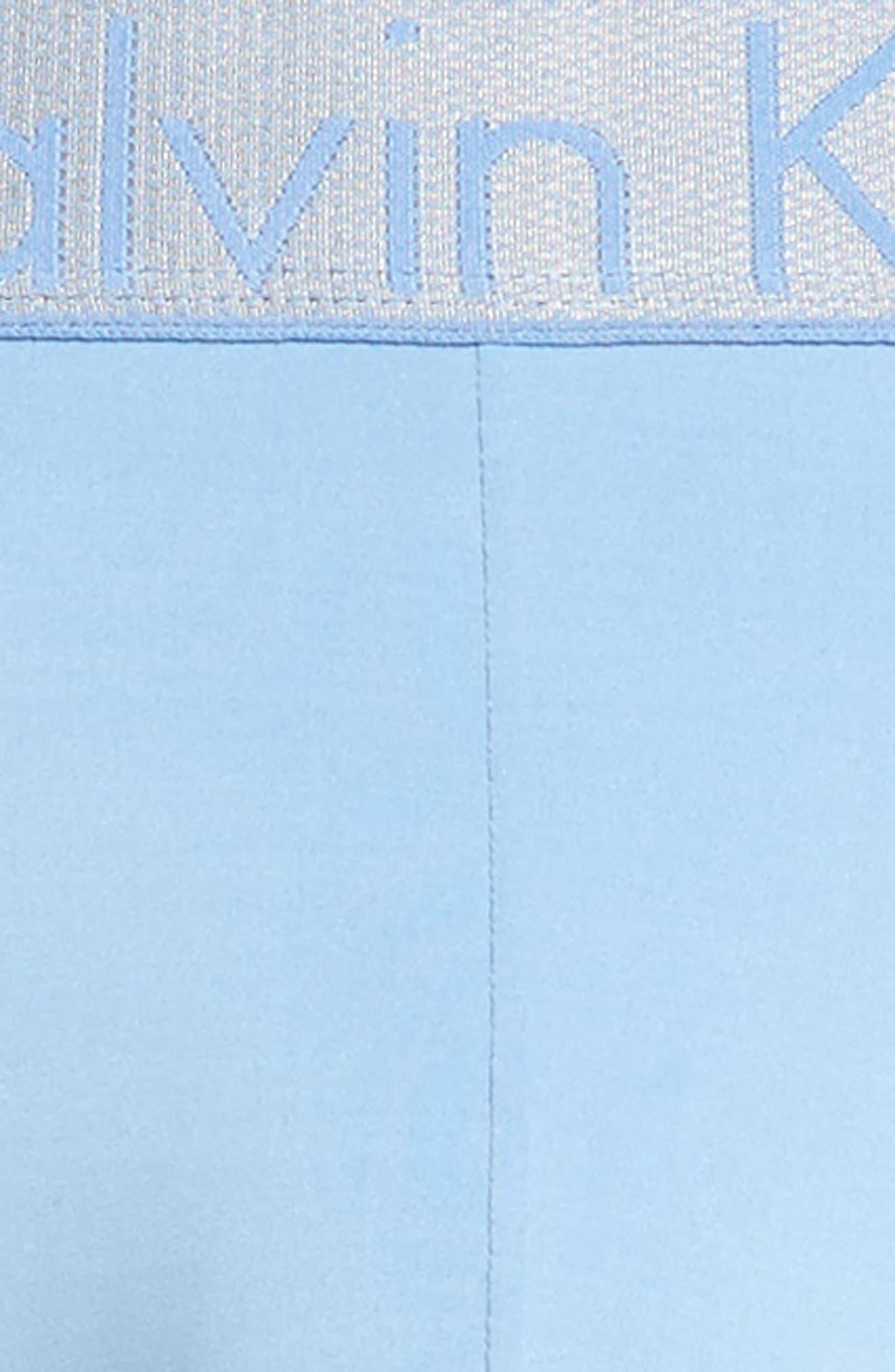 Customized Stretch Boxer Briefs,                             Alternate thumbnail 4, color,                             Della Blue