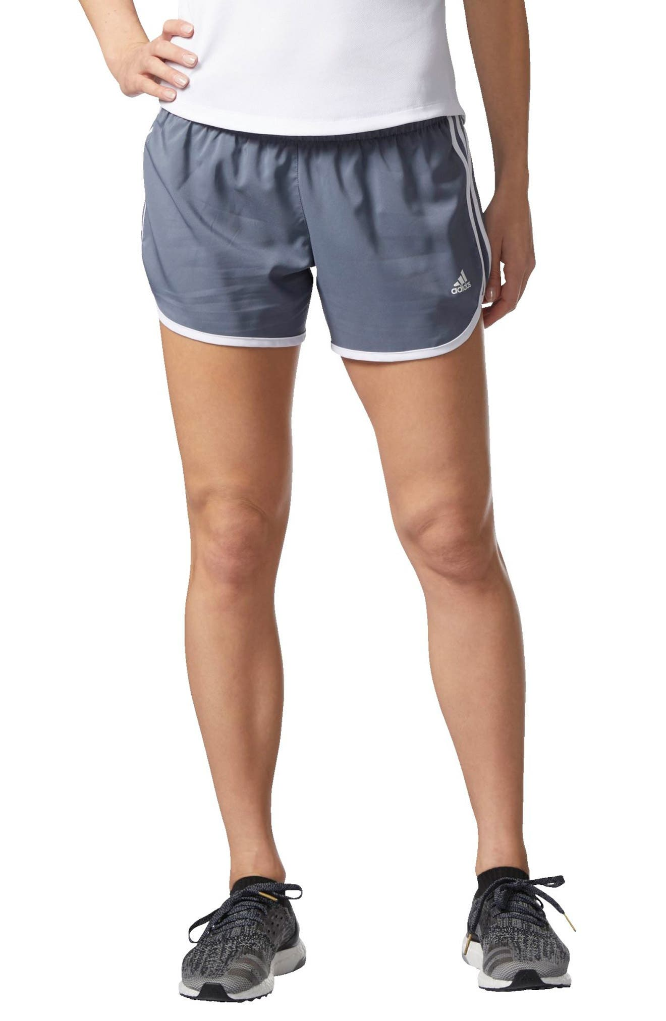 Alternate Image 1 Selected - adidas M10 Icon Running Shorts
