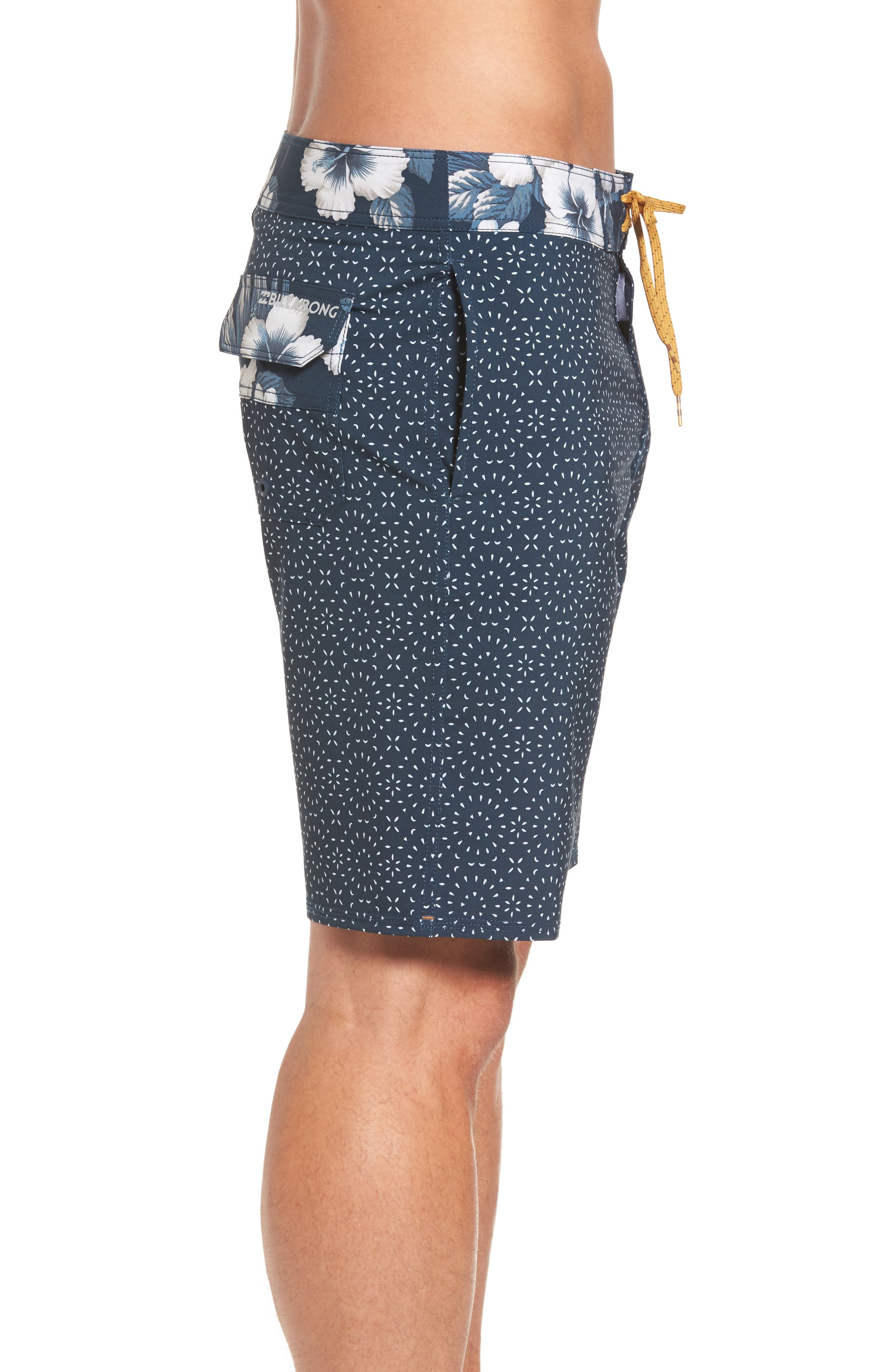 Sundays X Board Shorts,                             Alternate thumbnail 3, color,                             Blue