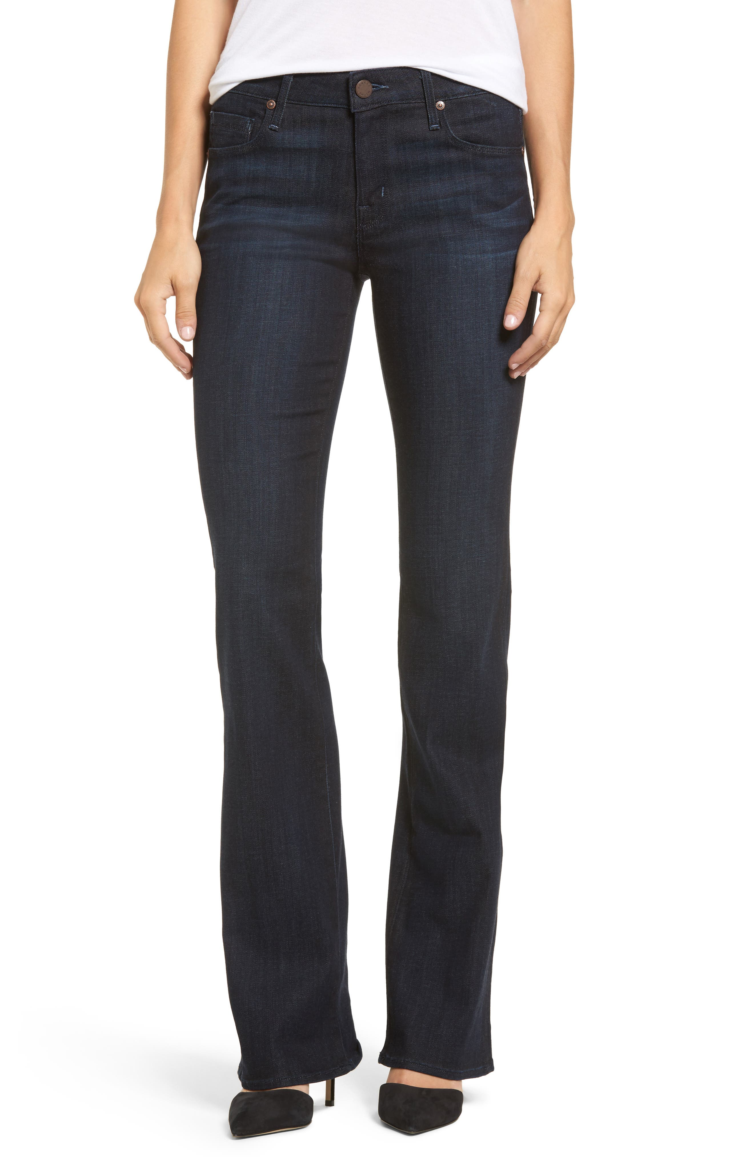 Main Image - PARKER SMITH Becky Bootcut Jeans (Washed Sky)