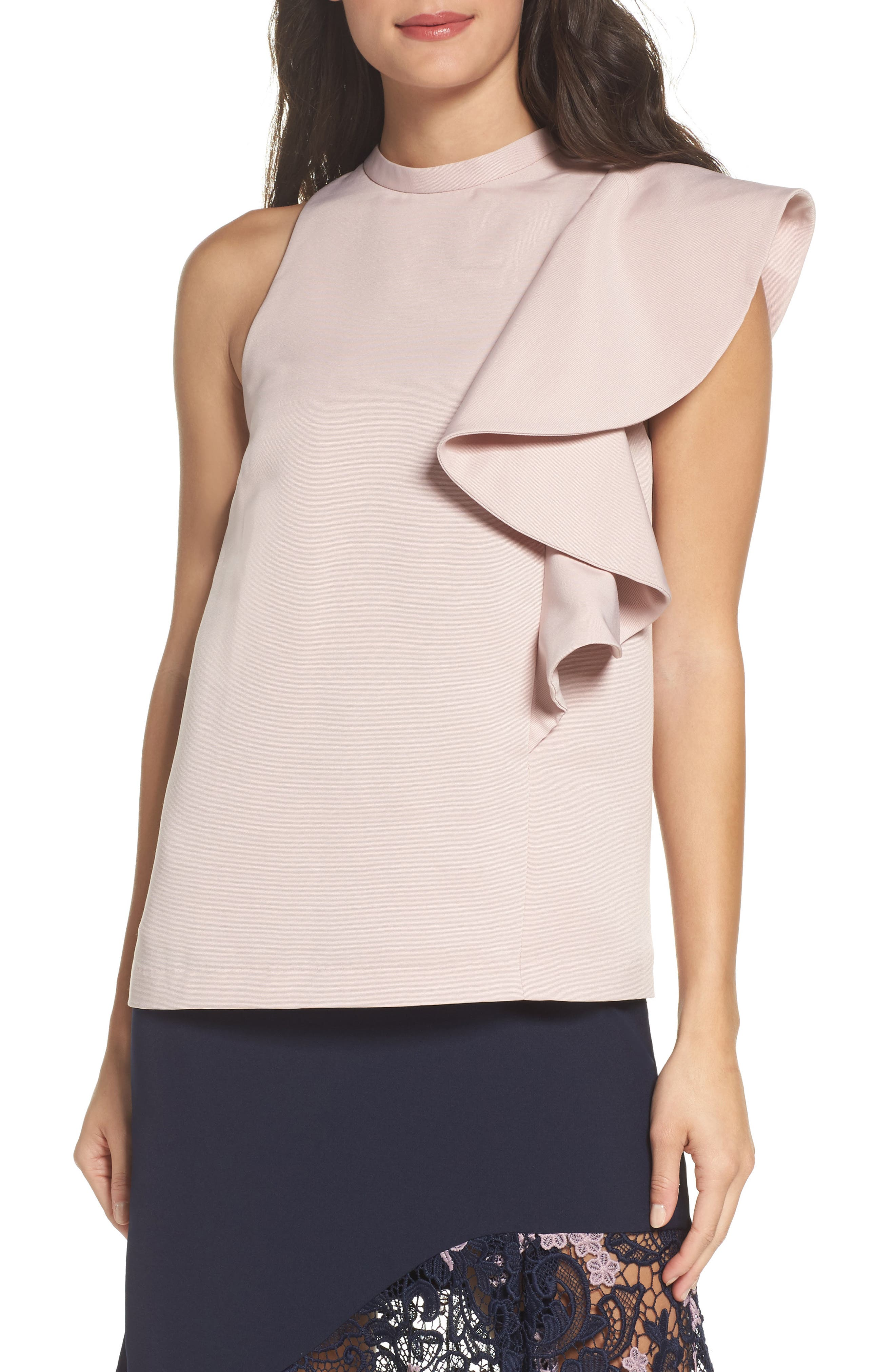 Cooper St Canyon Shadow Ruffle Top