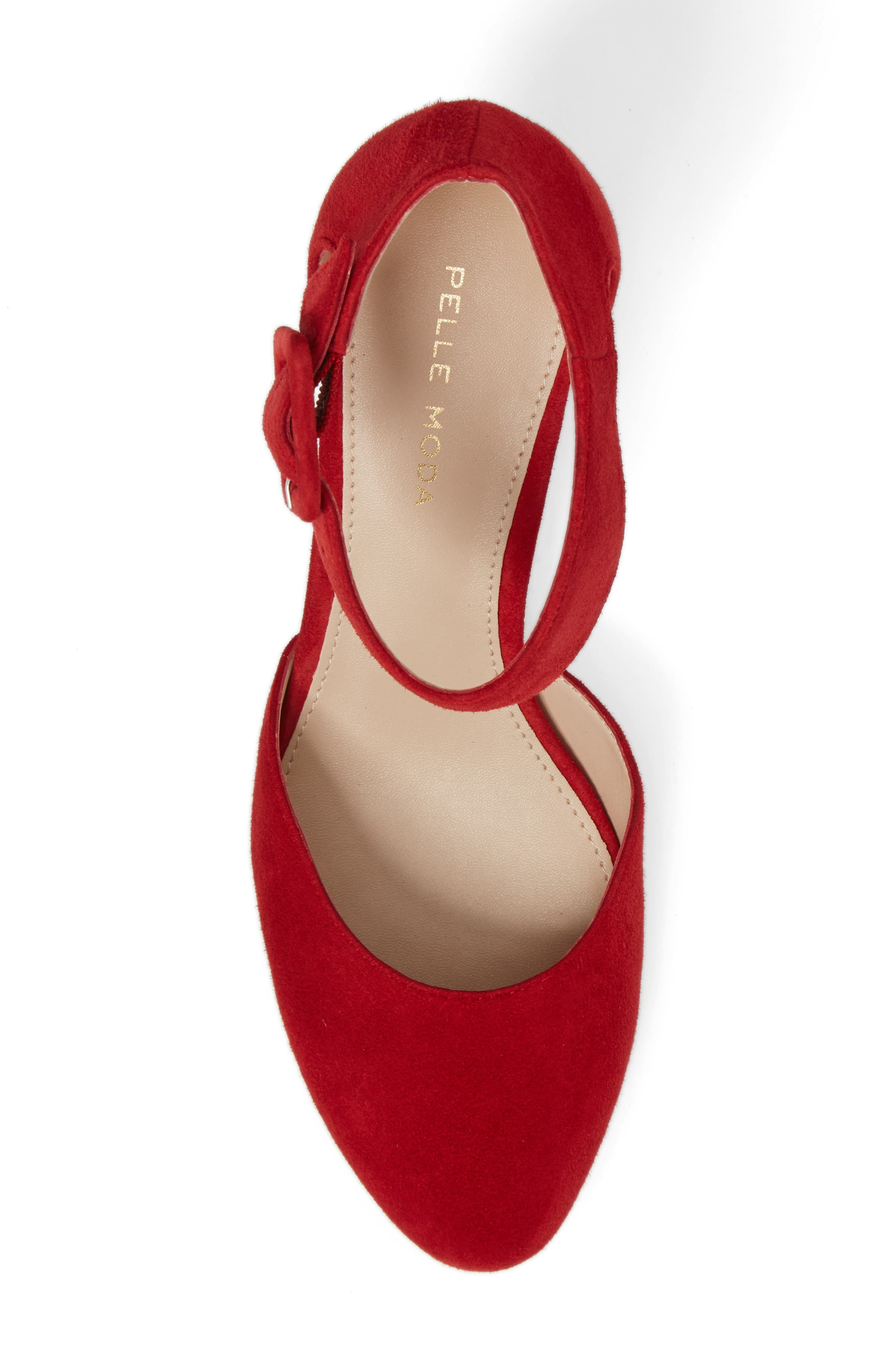 Alternate Image 5  - Pelle Moda Ankle Strap Pump (Women)