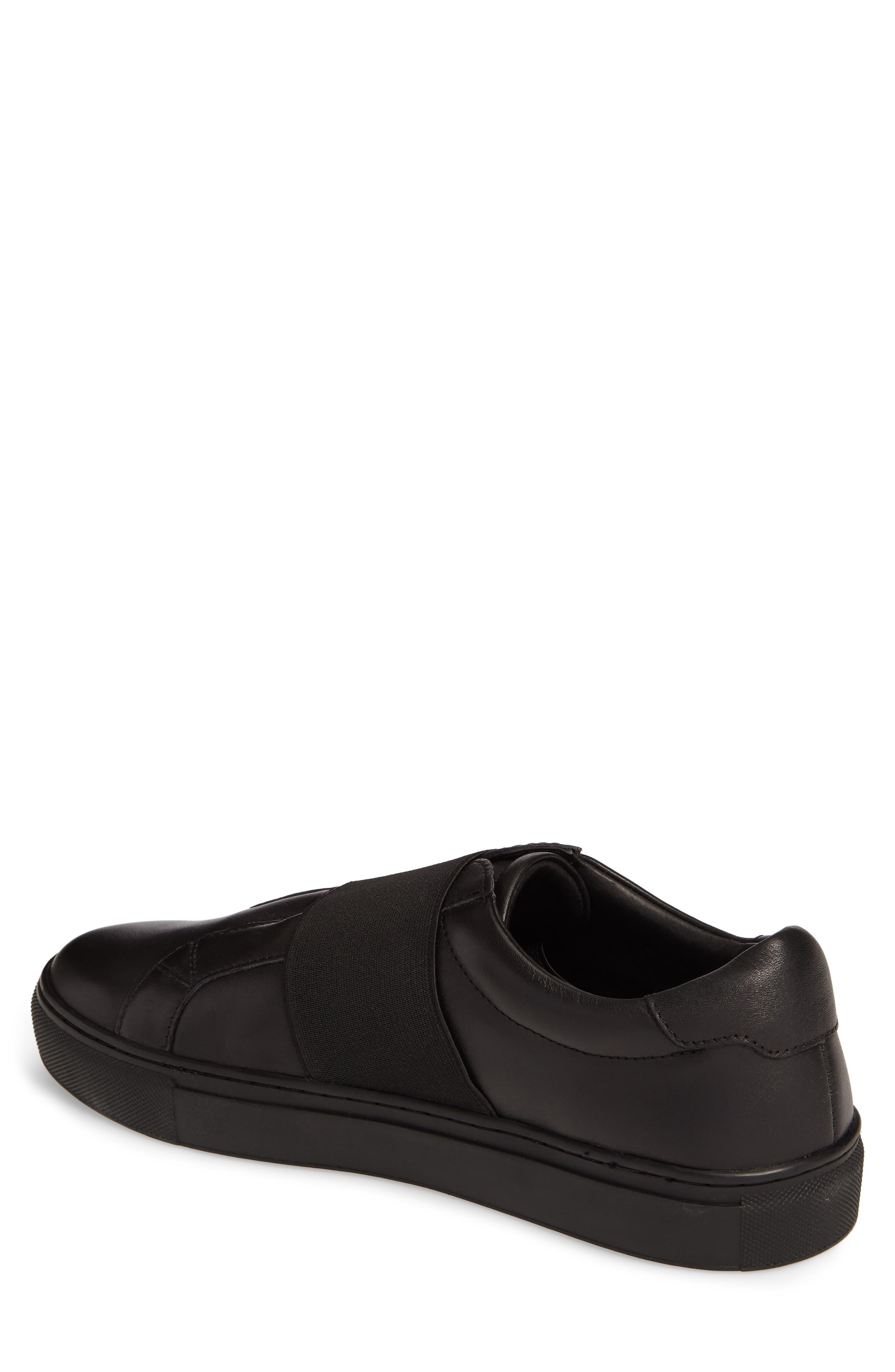 Darel Slip-On,                             Alternate thumbnail 2, color,                             Black Leather