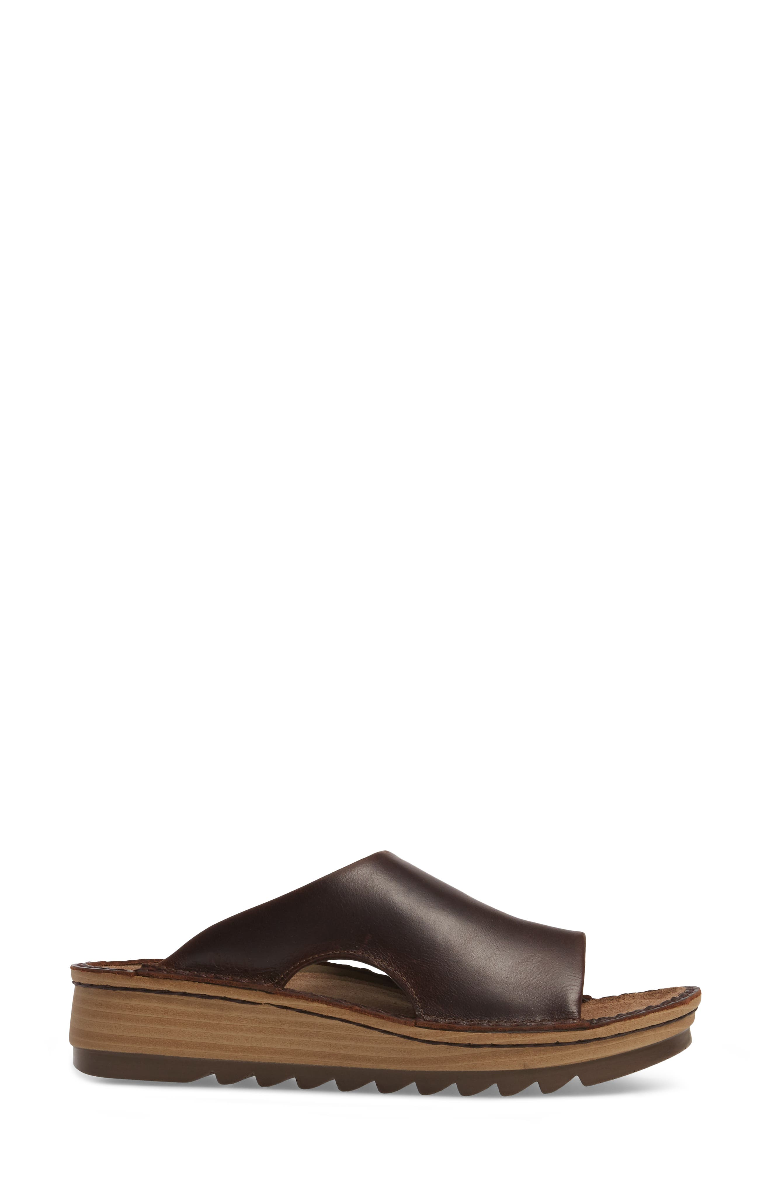 'Ardisia' Slide Sandal,                             Alternate thumbnail 3, color,                             Buffalo Leather