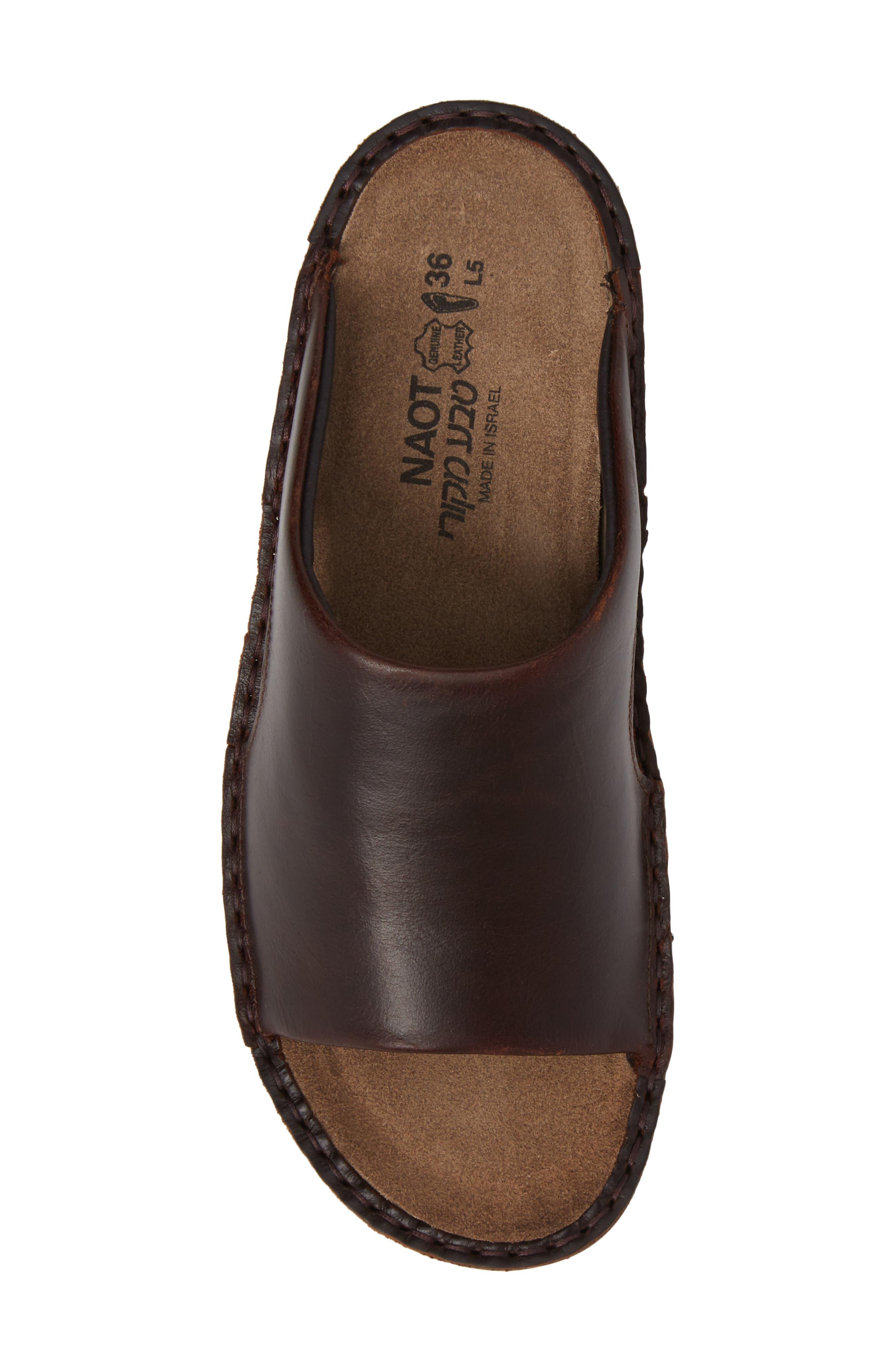 'Ardisia' Slide Sandal,                             Alternate thumbnail 5, color,                             Buffalo Leather