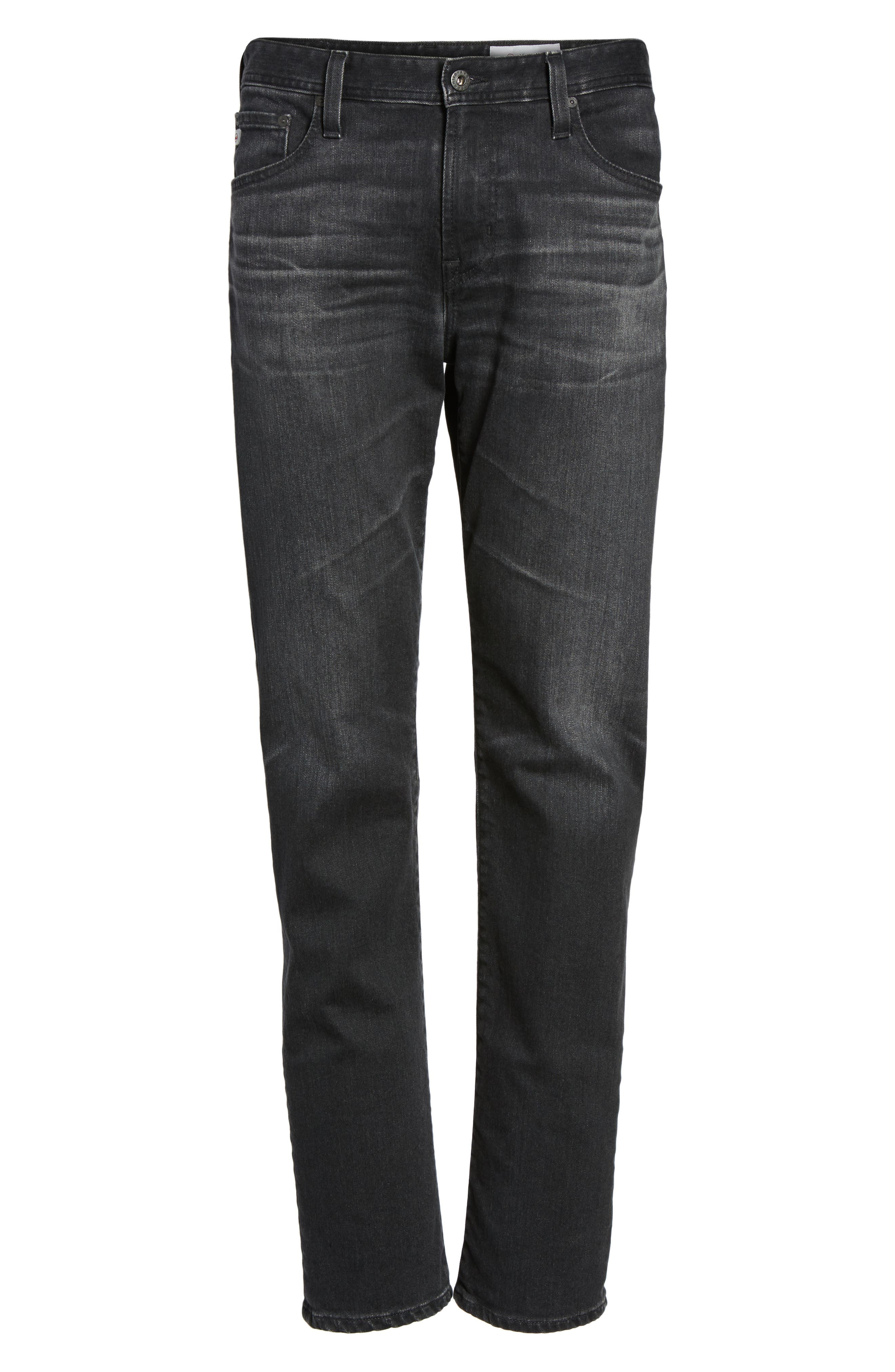 Alternate Image 6  - AG Graduate Slim Straight Fit Jeans (7 Years Asphalt)