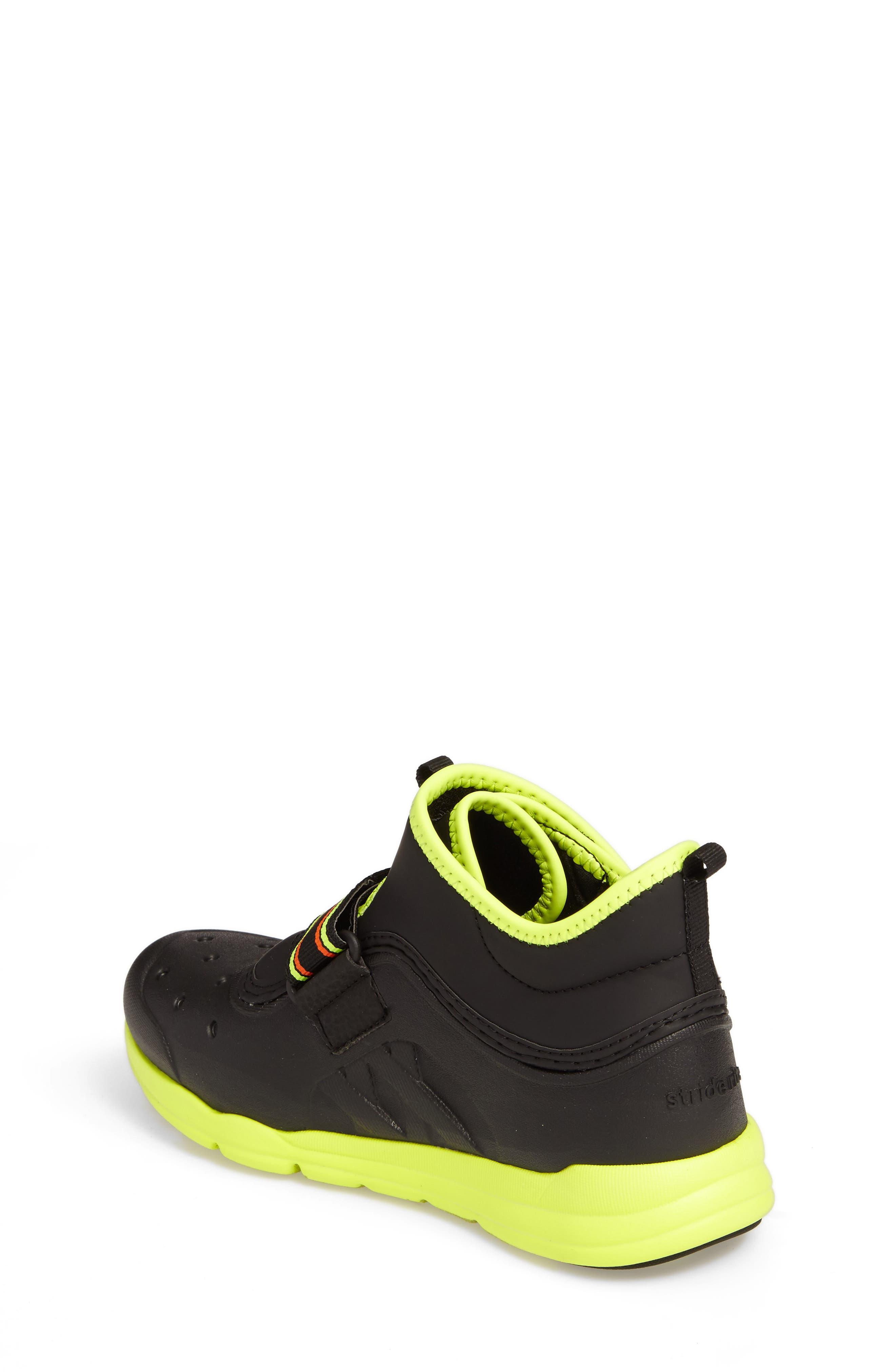 Alternate Image 2  - Stride Rite Made2Play® Phibian Mid Top Sneaker (Baby, Walker & Toddler)