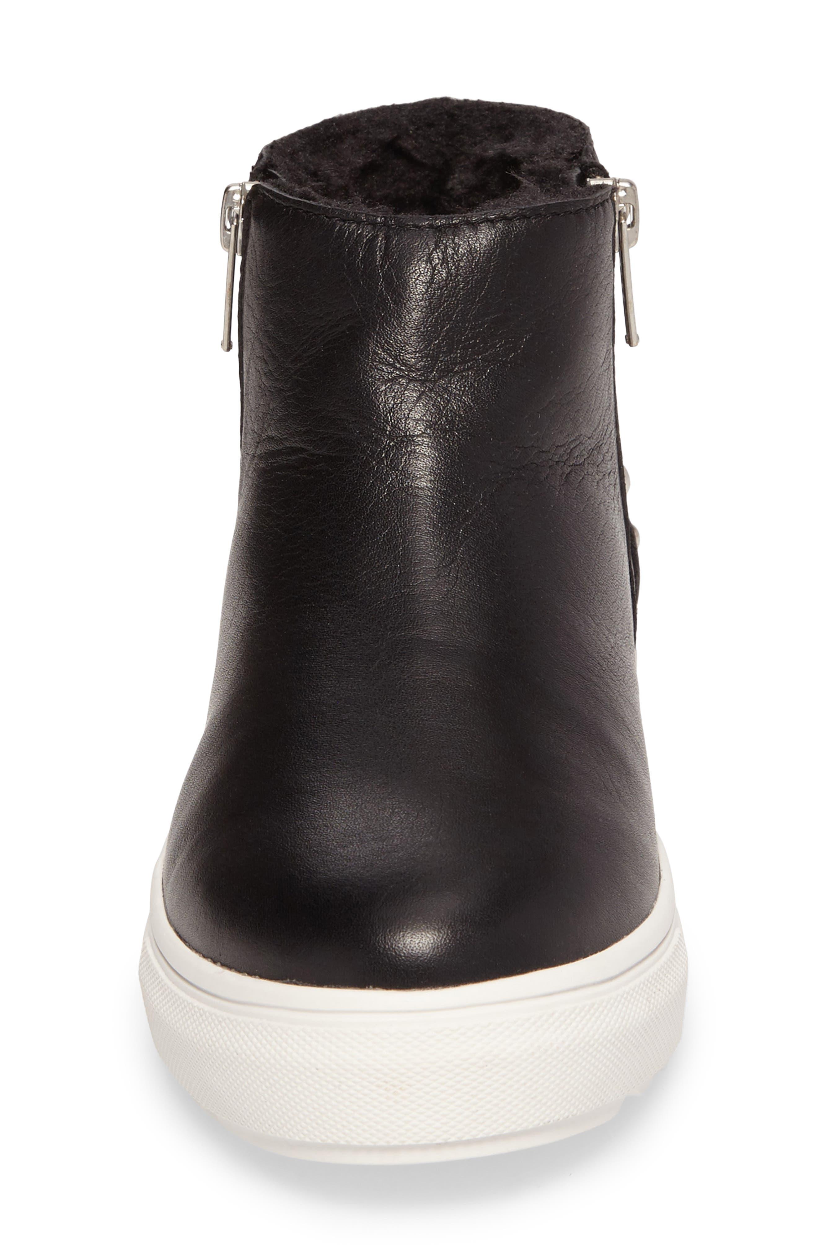 Pele Boot,                             Alternate thumbnail 4, color,                             Black Leather