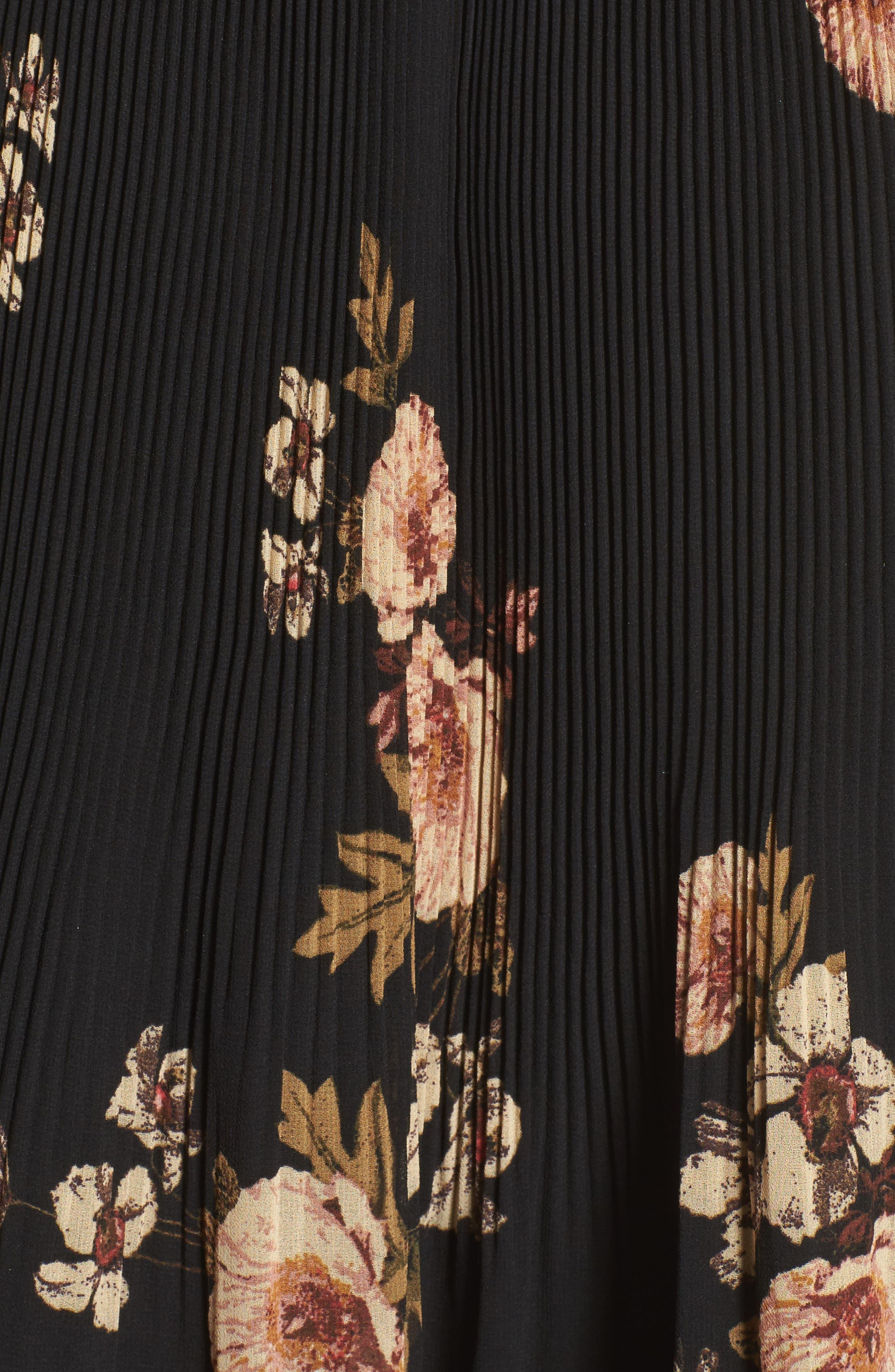 Alternate Image 7  - ASTR the Label Persephone Cold Shoulder Dress