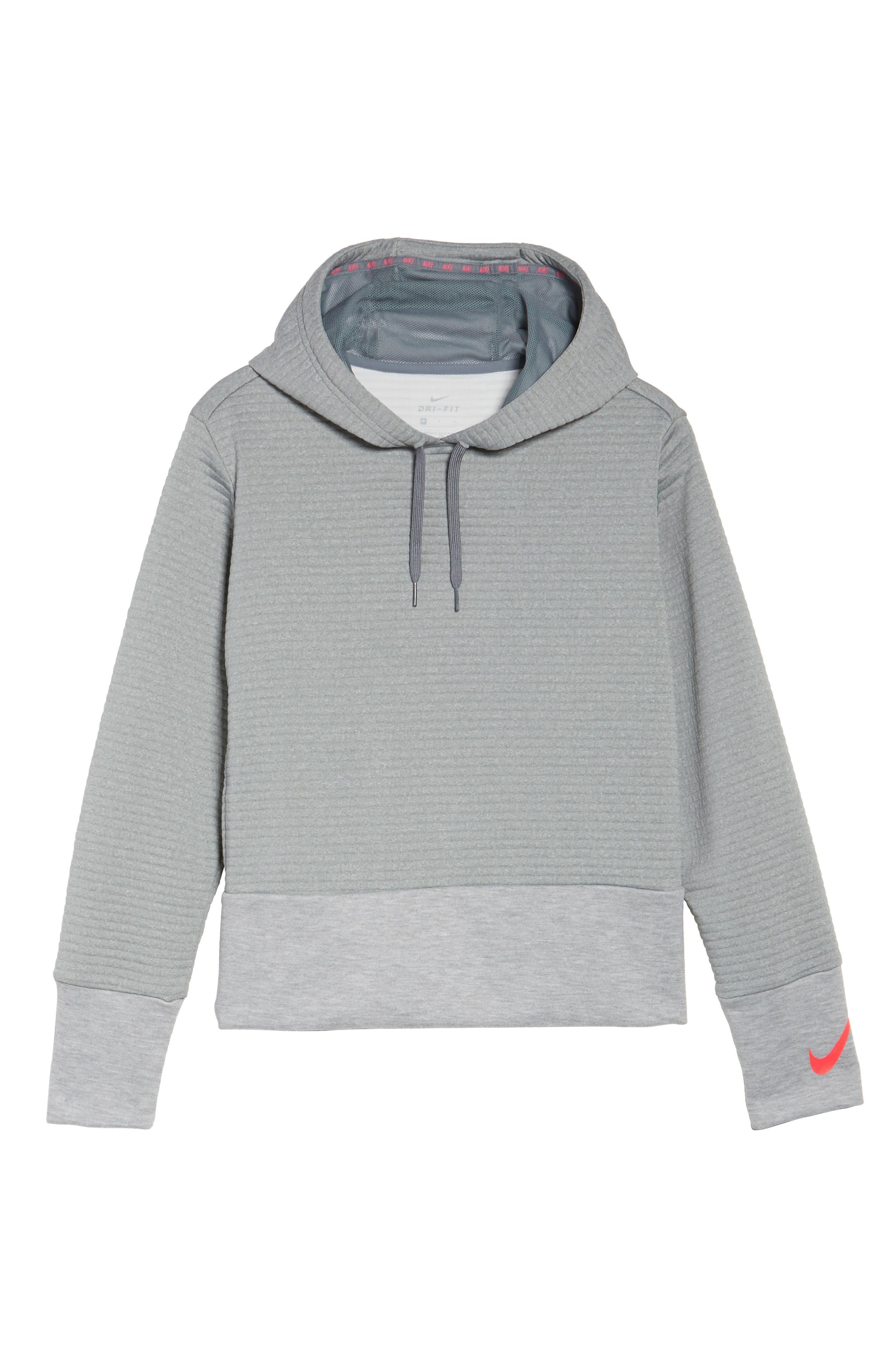 Alternate Image 6  - Nike Dry Ribbed Hoodie