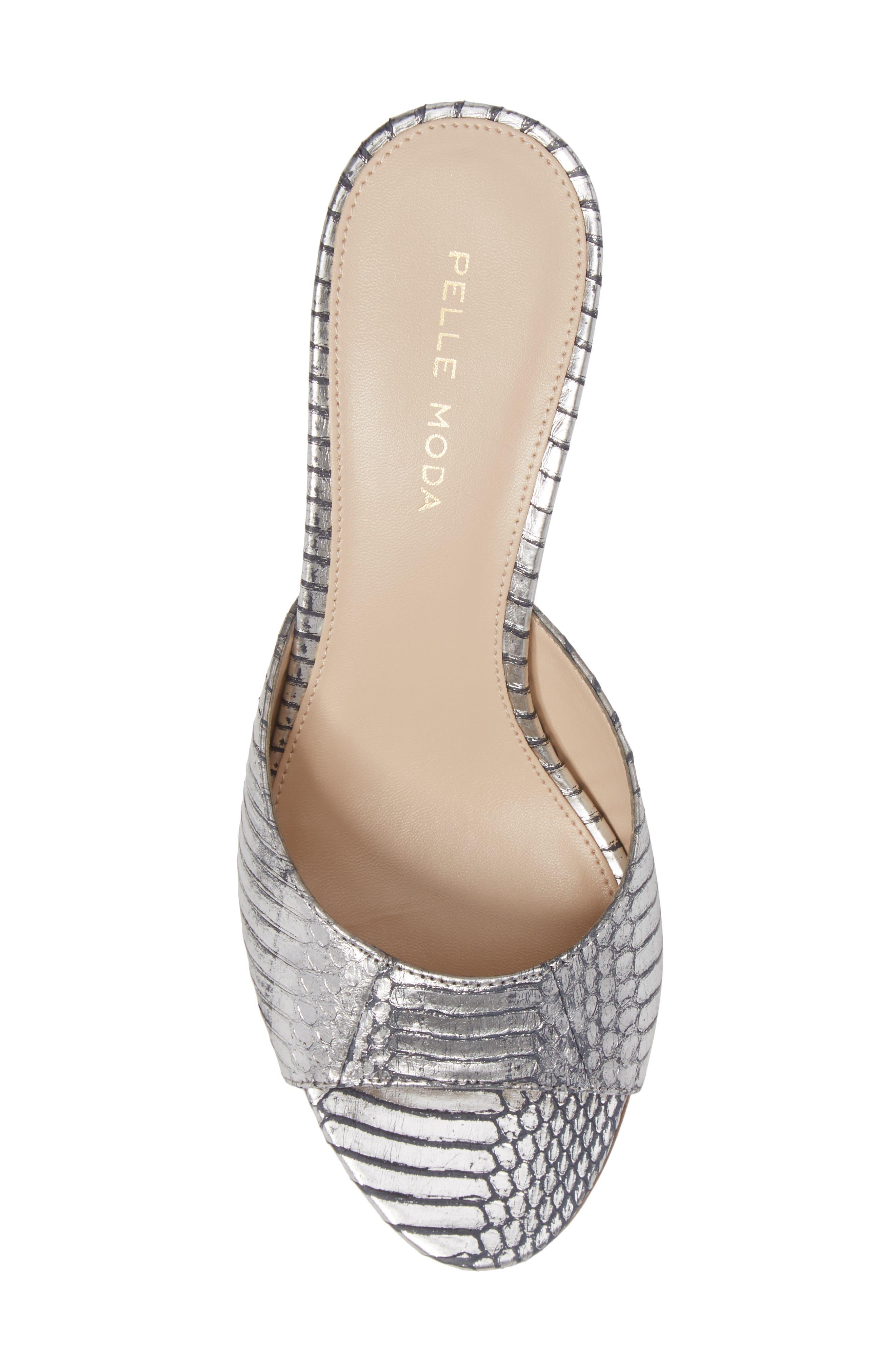 Alternate Image 5  - Pelle Moda Bex Kitten Heel Slide (Women)