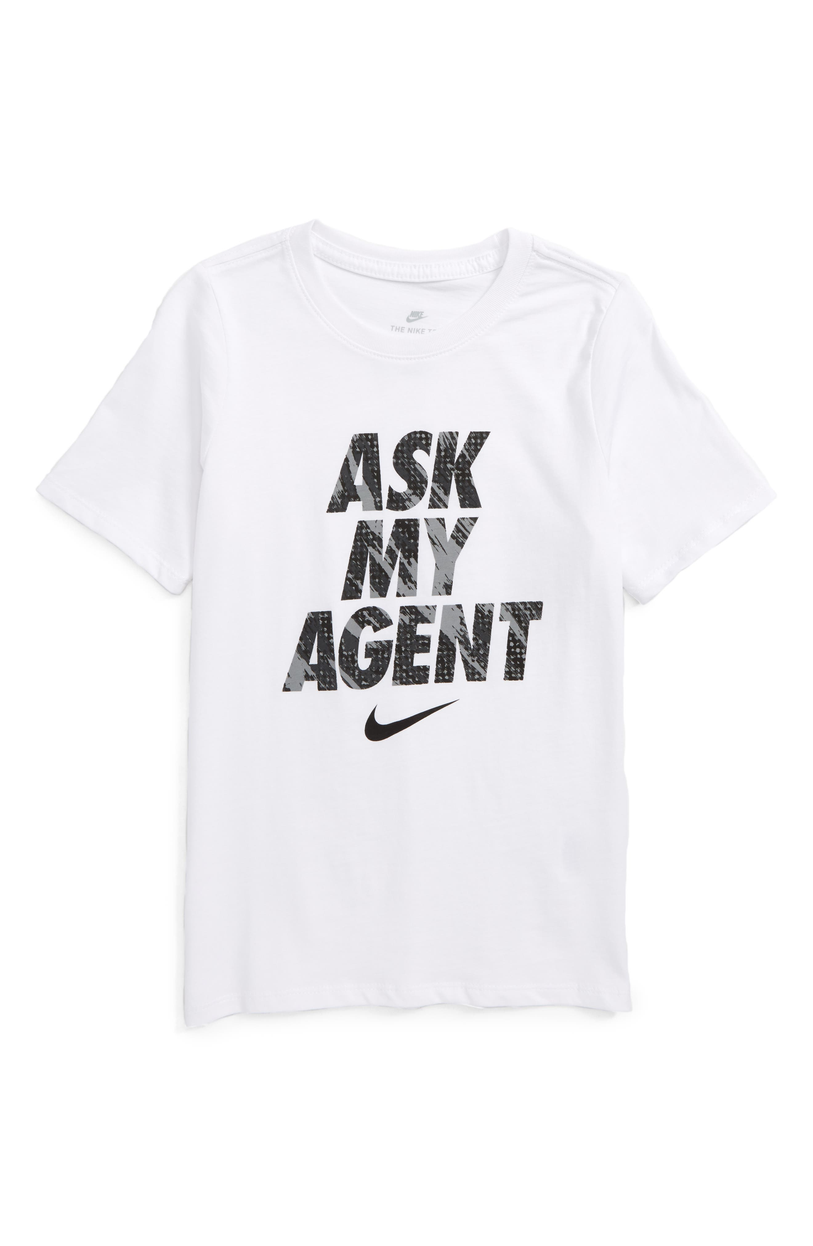 NIKE Ask My Agent Graphic T-Shirt