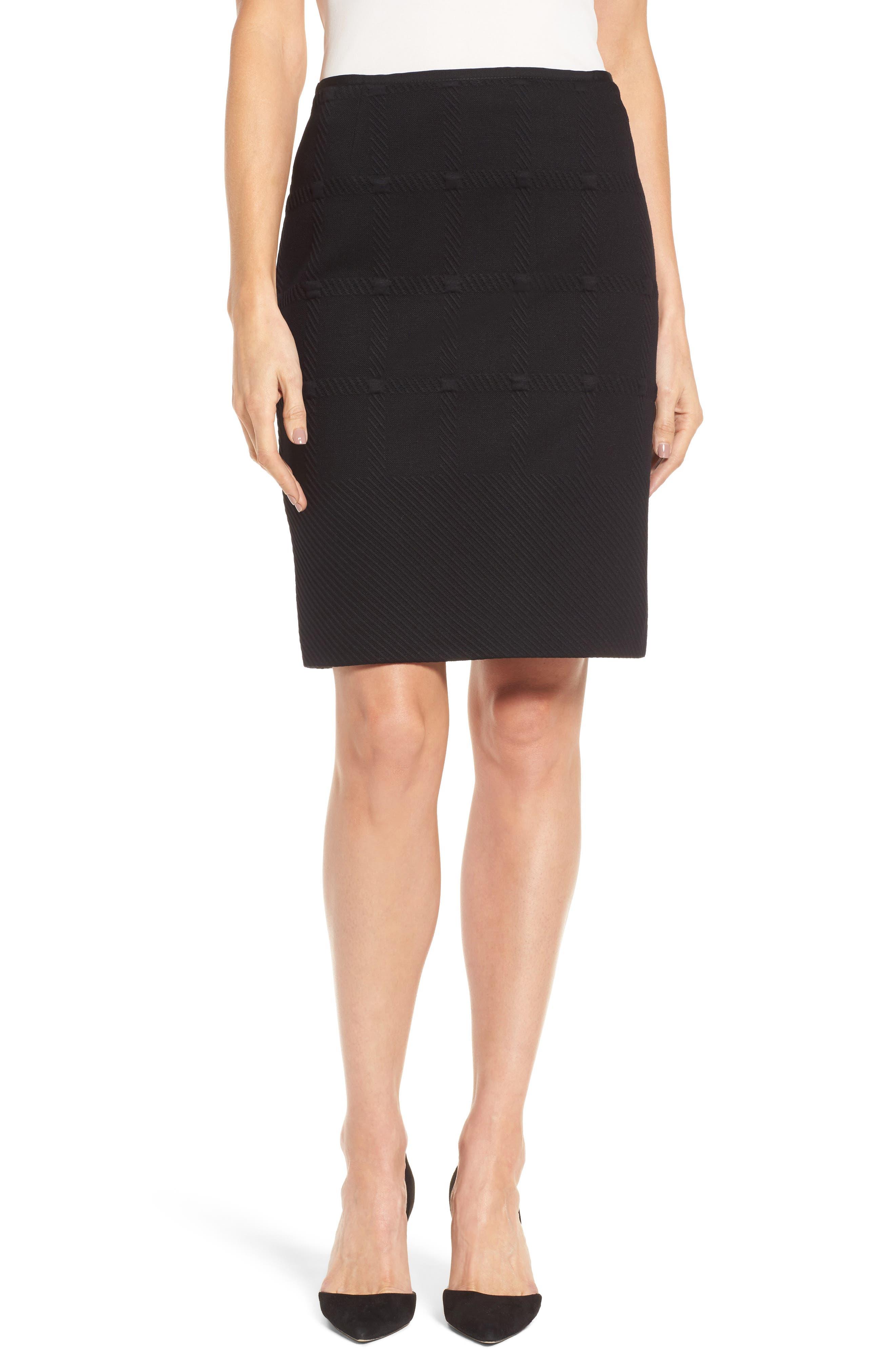 BOSS Manelli Jacquard Pencil Skirt