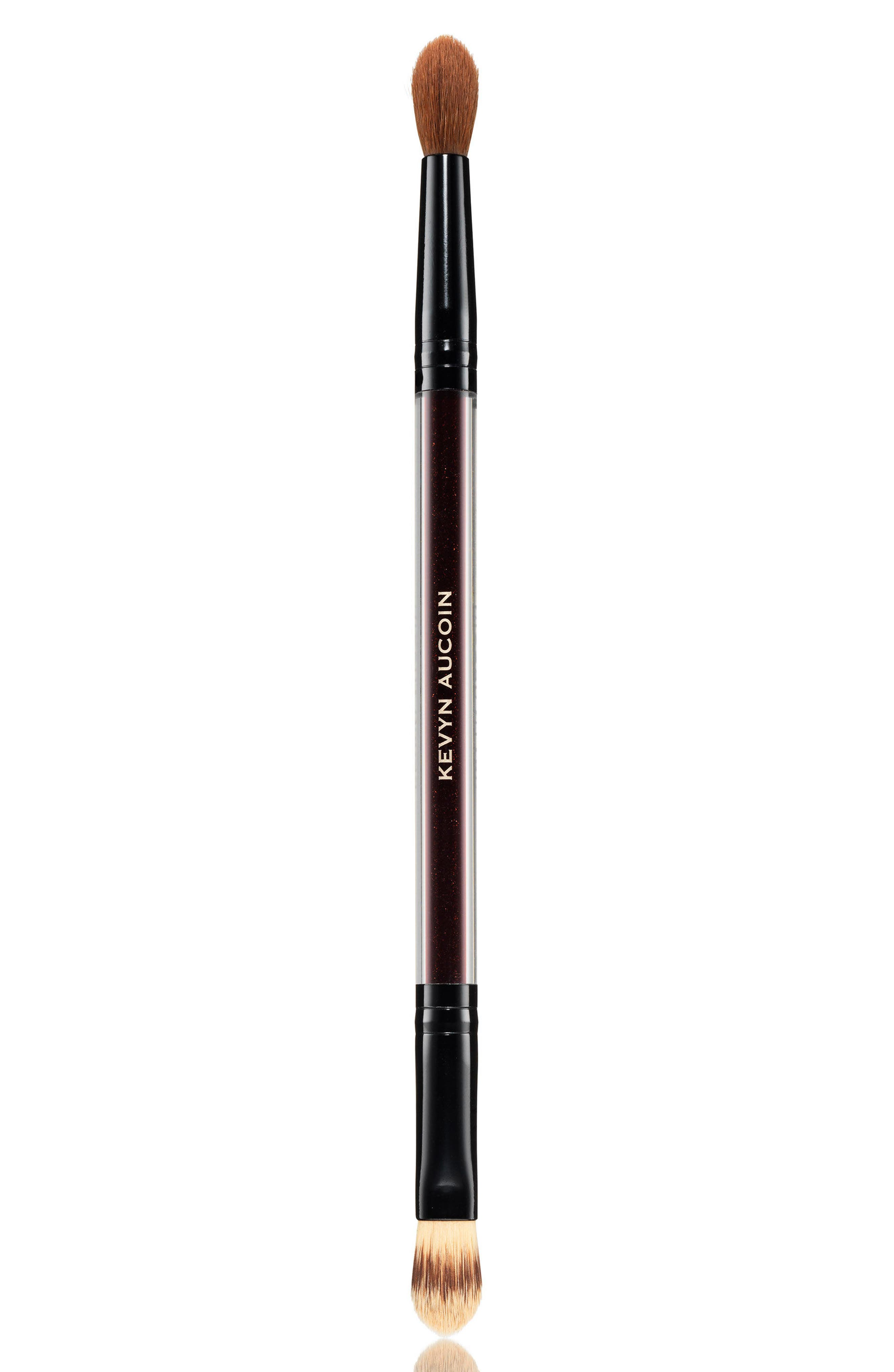 SPACE.NK.apothecary Kevyn Aucoin Beauty The Duet Concealer Brush,                             Main thumbnail 1, color,                             No Color