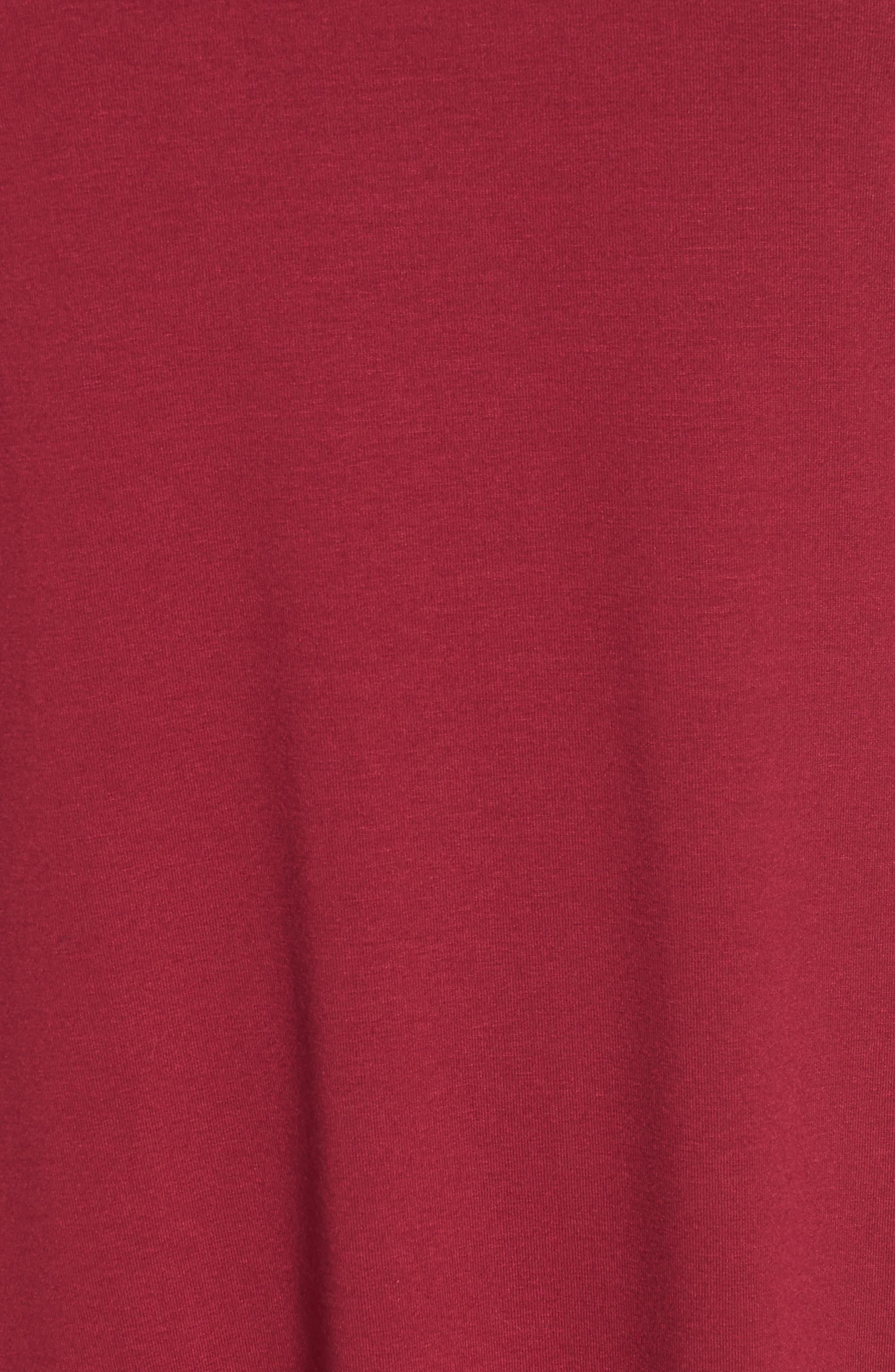 Alternate Image 5  - Eileen Fisher Mock Neck Shift Dress