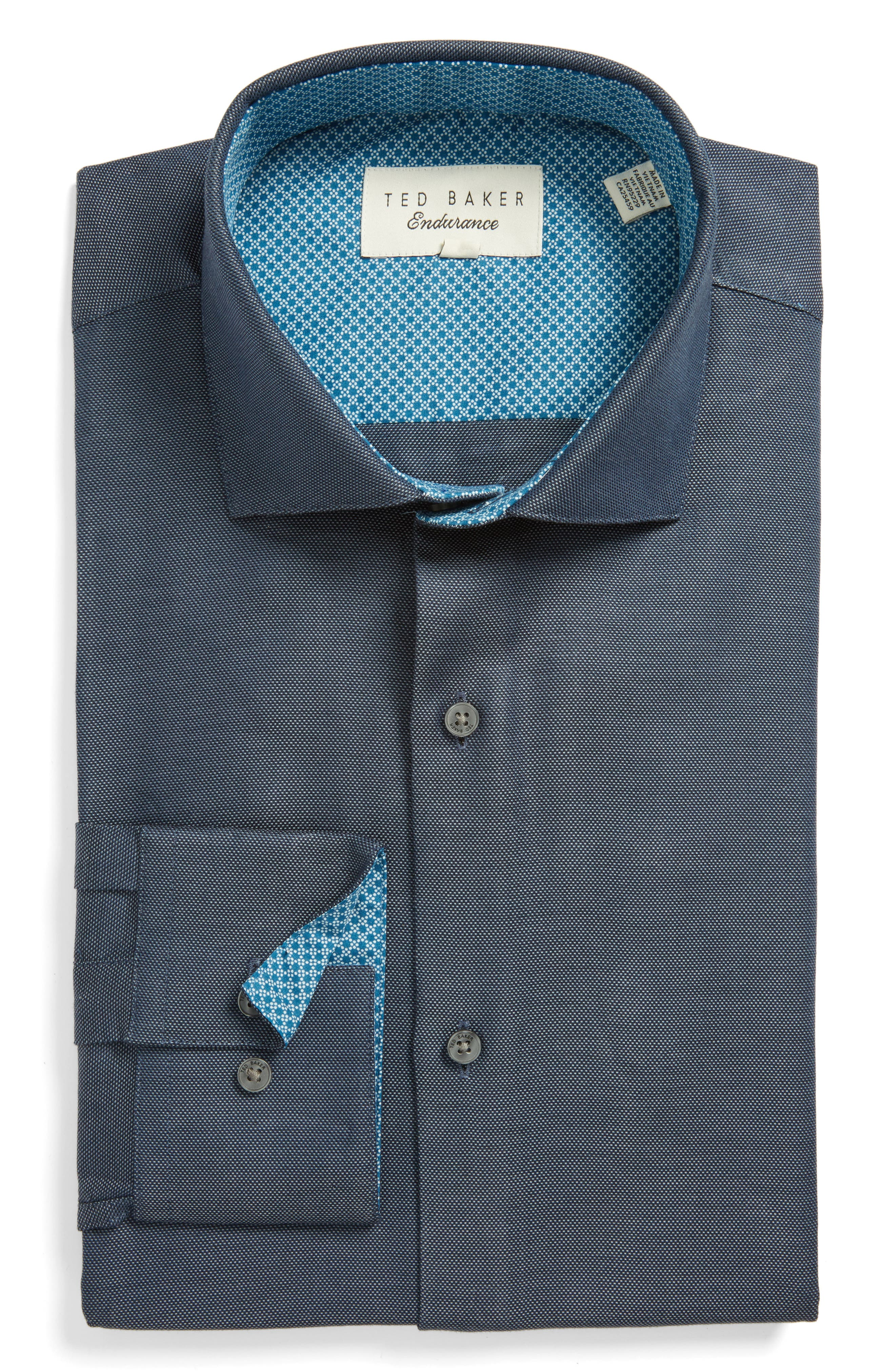 Ted Baker London Endurance Trim Fit Dress Shirt