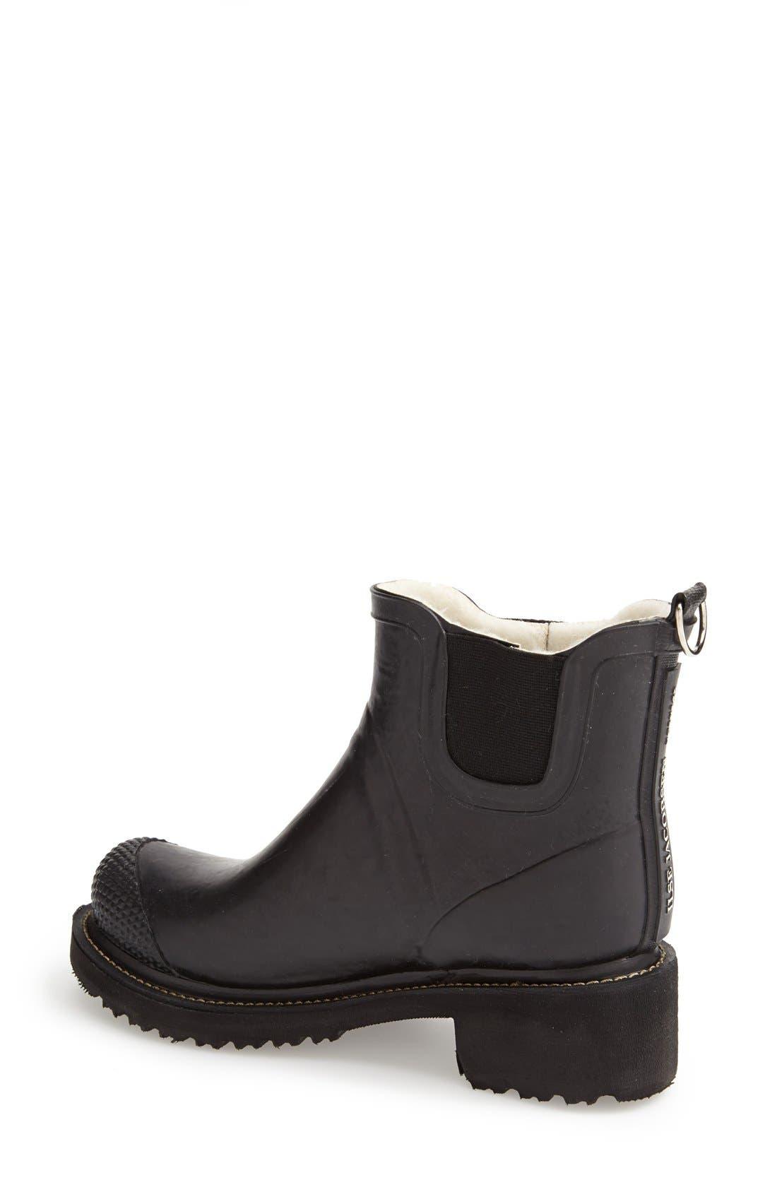 Alternate Image 2  - Ilse Jacobsen Hornbaek 'RUB 47' Short Waterproof Rain Boot (Women)