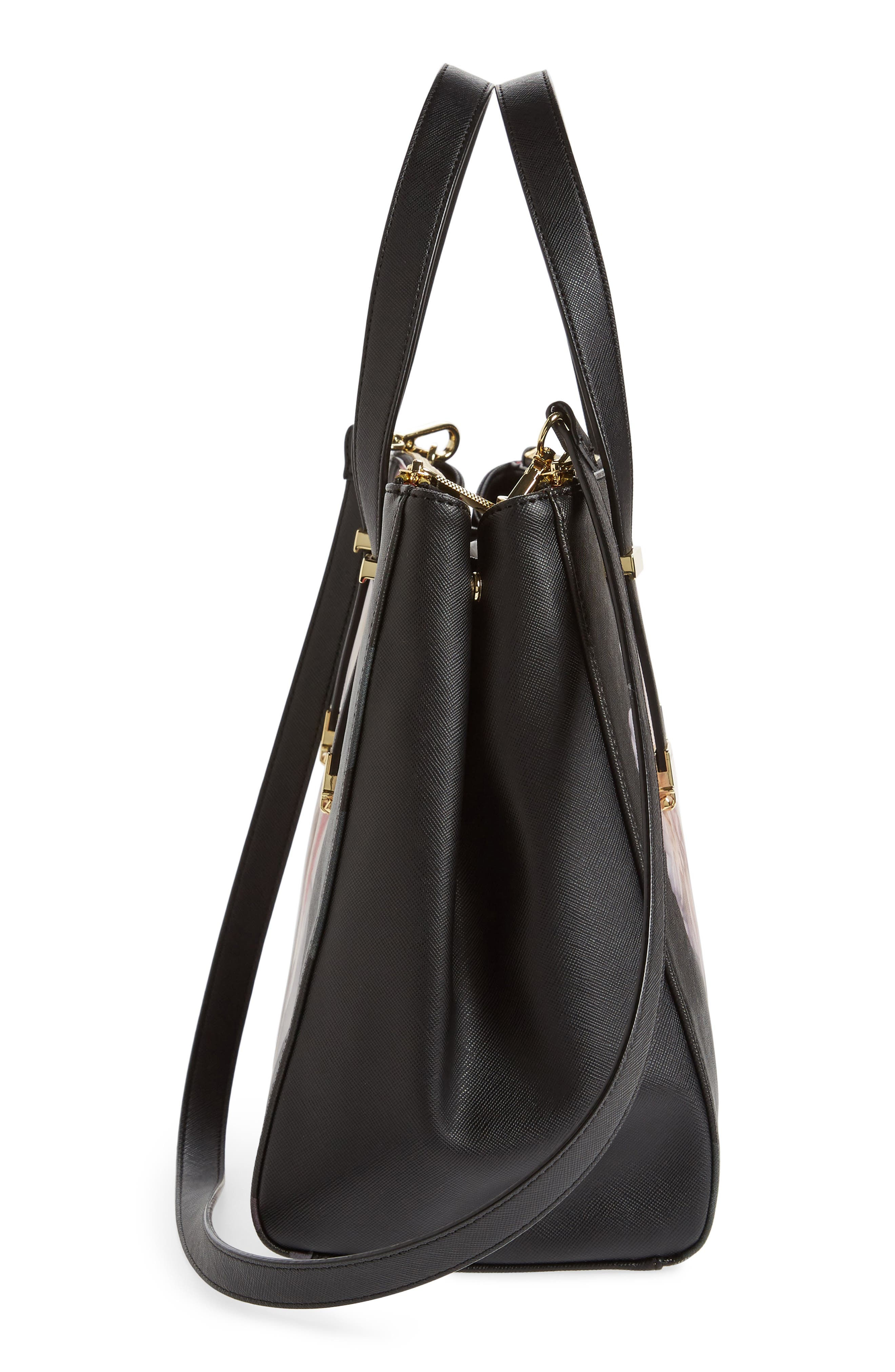 Alternate Image 4  - Ted Baker London Large Abeliaa Chelsea Lady Adjustable Handle Shopper