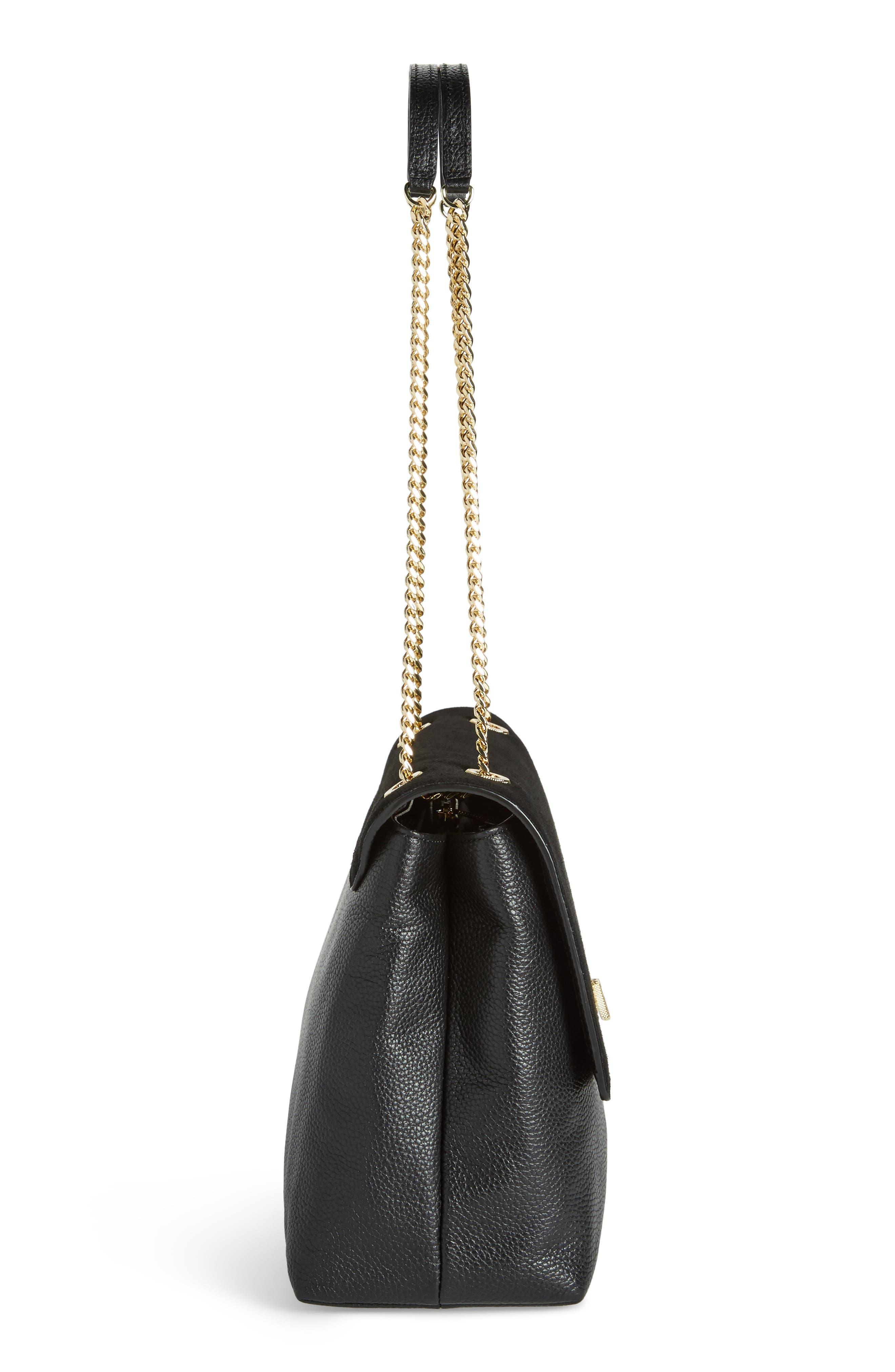 Alternate Image 4  - Ted Baker London Sophina Suede Shoulder Bag