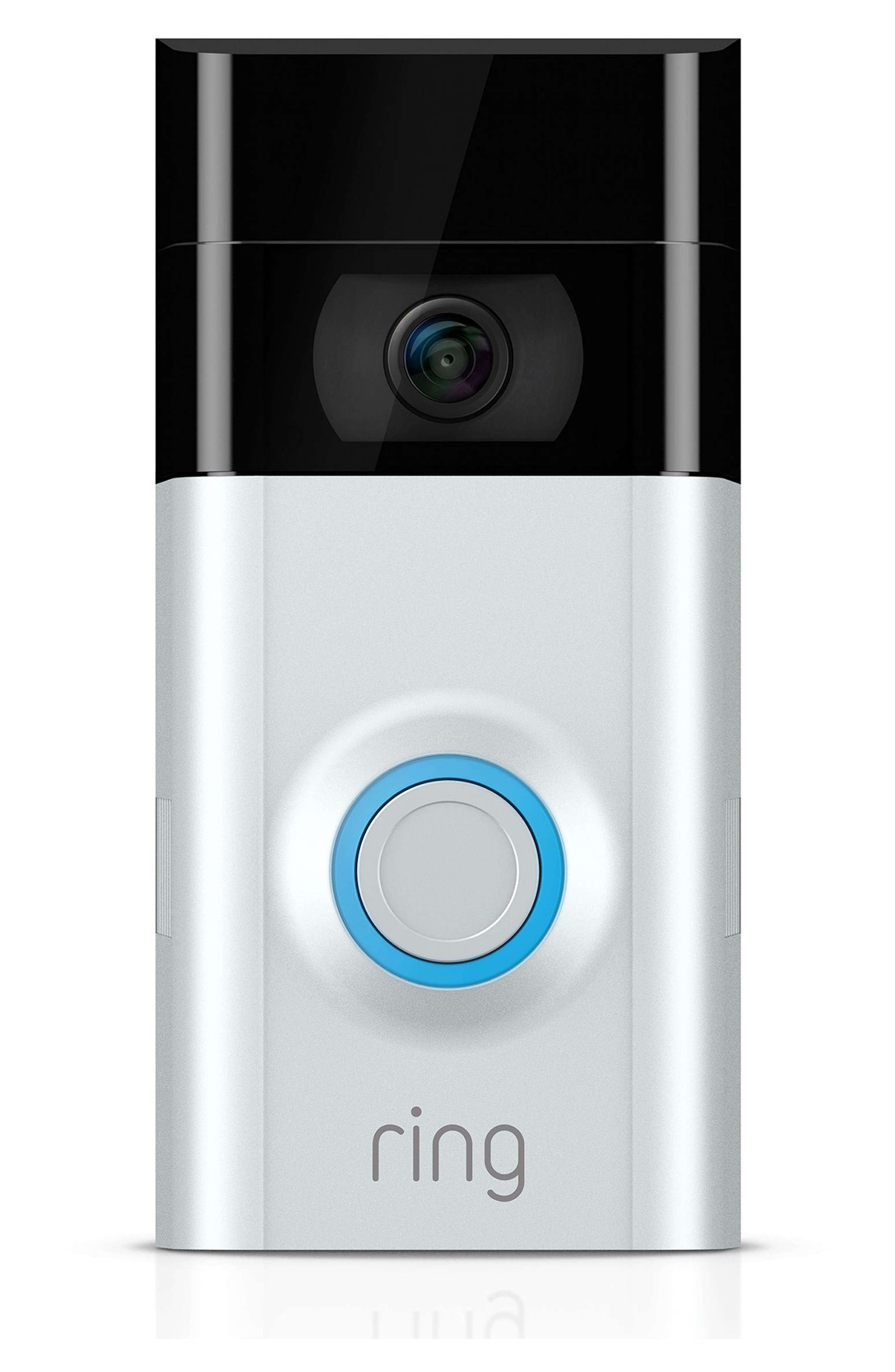 Video Doorbell 2,                             Main thumbnail 1, color,                             Satin