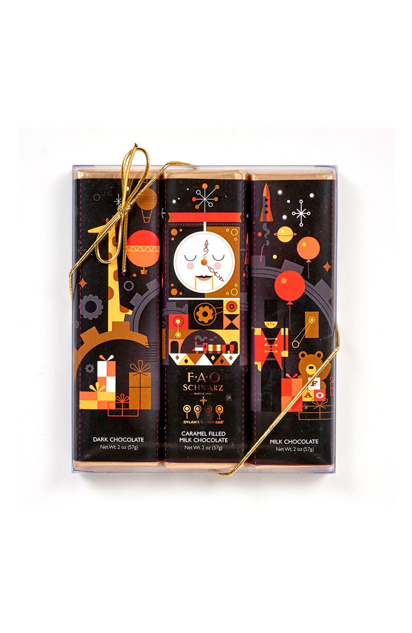 Dylan's Candy Bar FAO Schwarz 3-Bar Chocolate Gift Set
