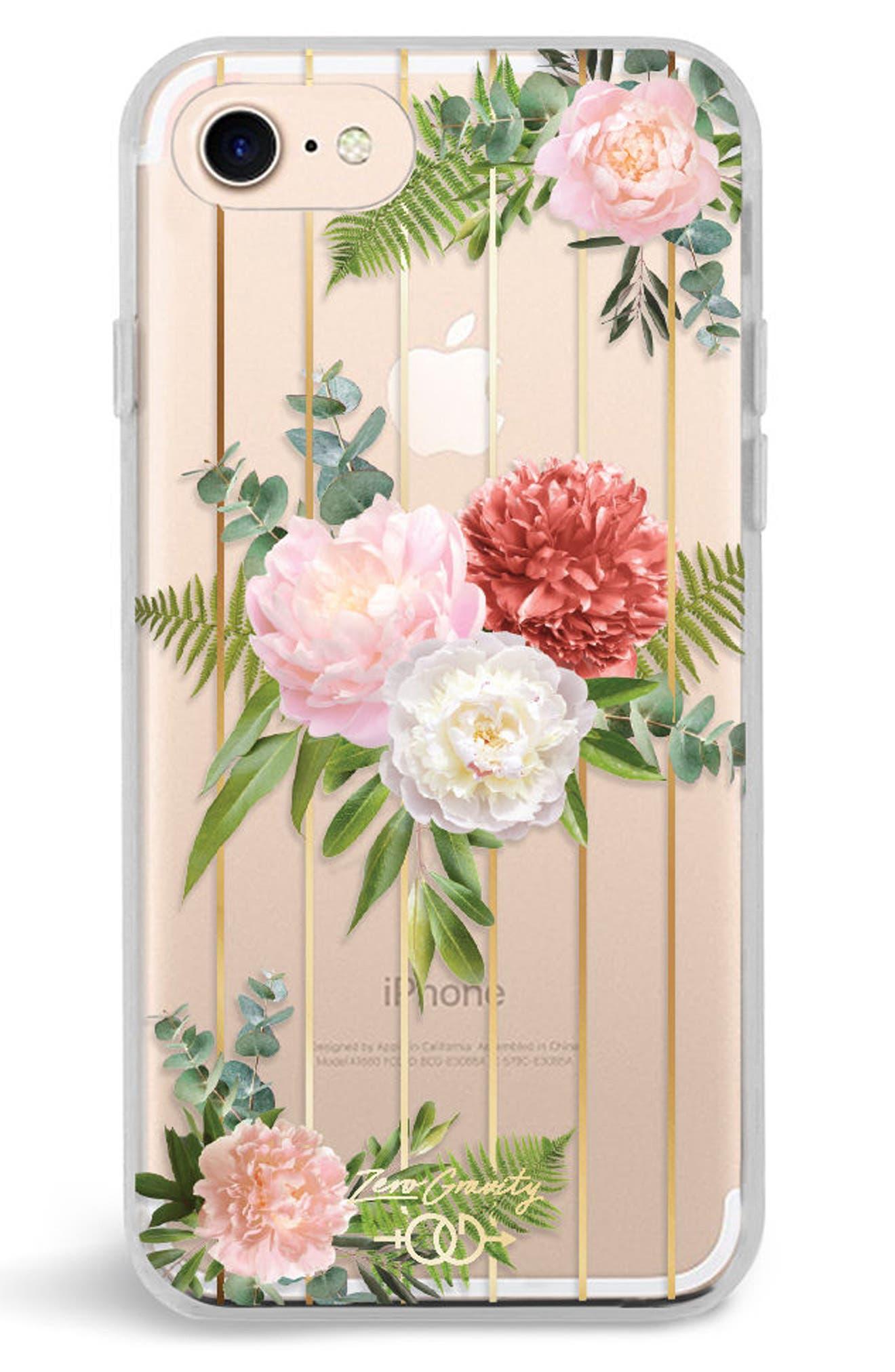 Trio iPhone 7/8 & 7/8 Plus Case,                             Main thumbnail 1, color,                             Pink