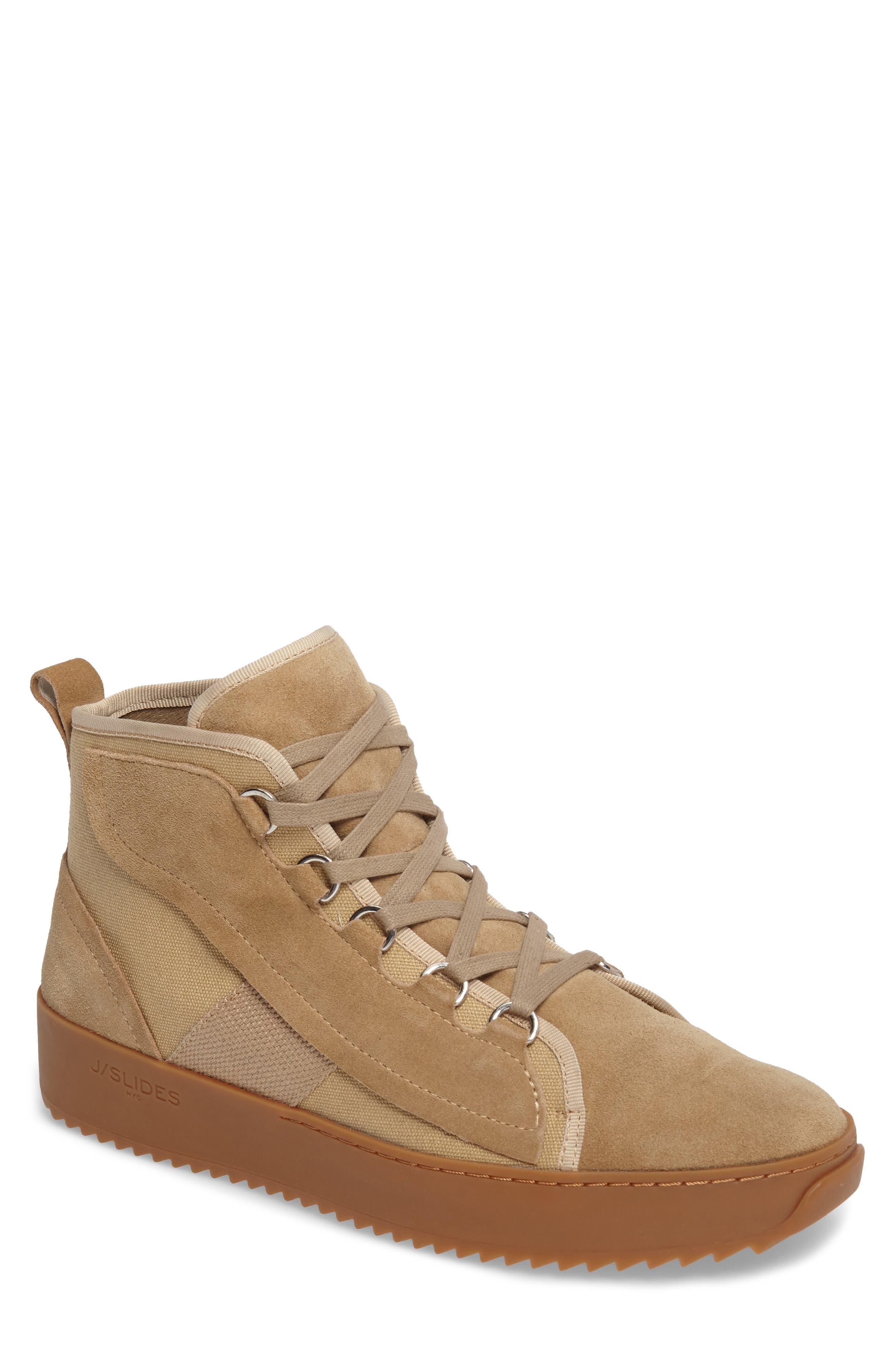Sander Sneaker,                         Main,                         color, Sand Suede