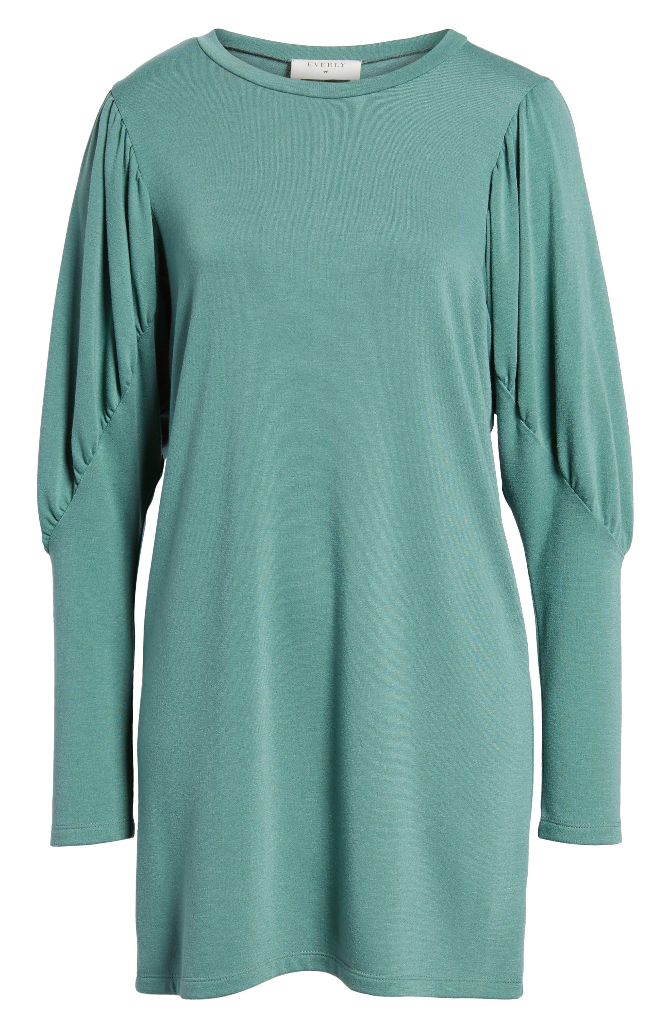 Everly Statement Sleeve Sweatshirt Dress