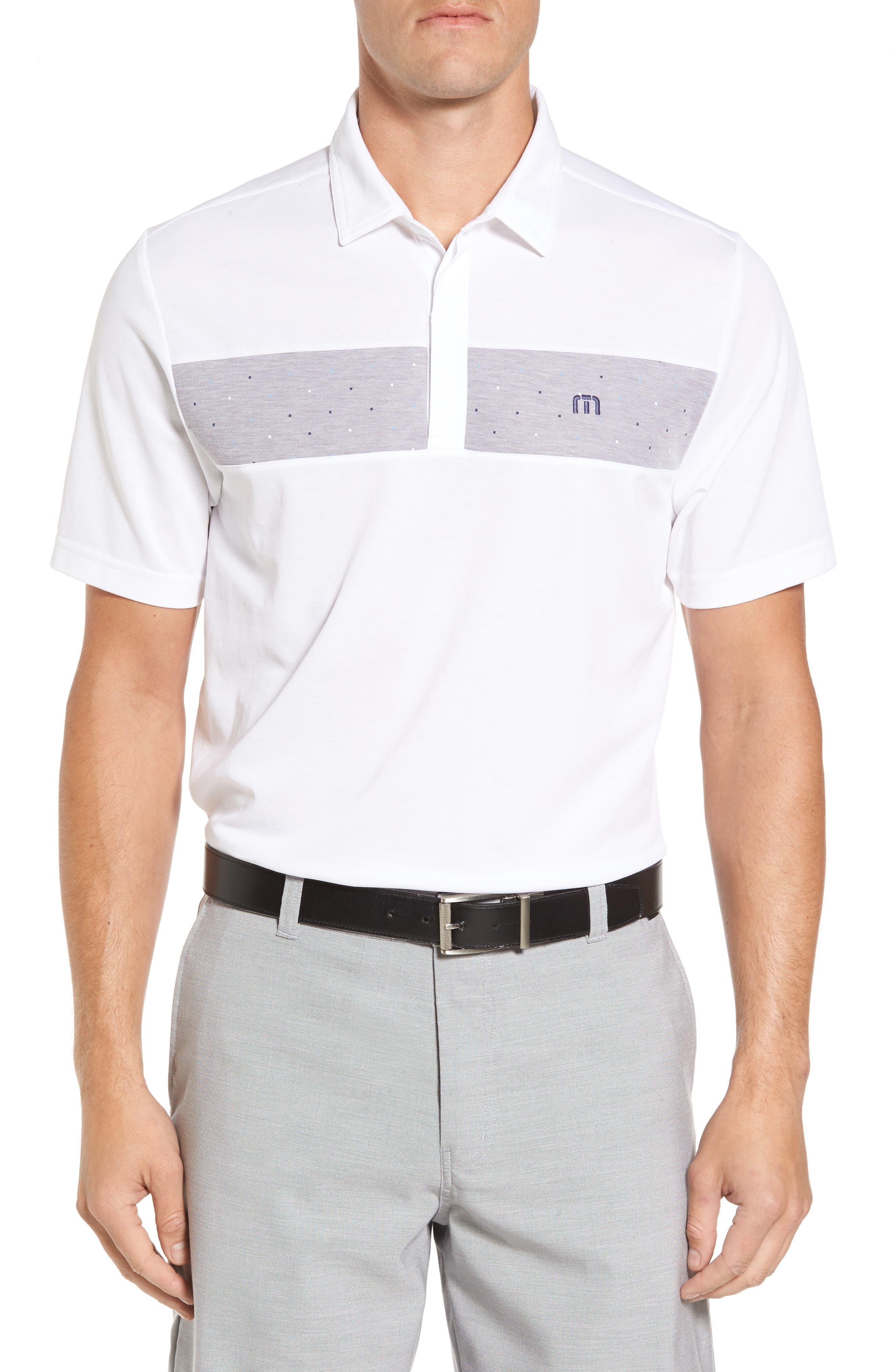 Ames Polo,                         Main,                         color, White