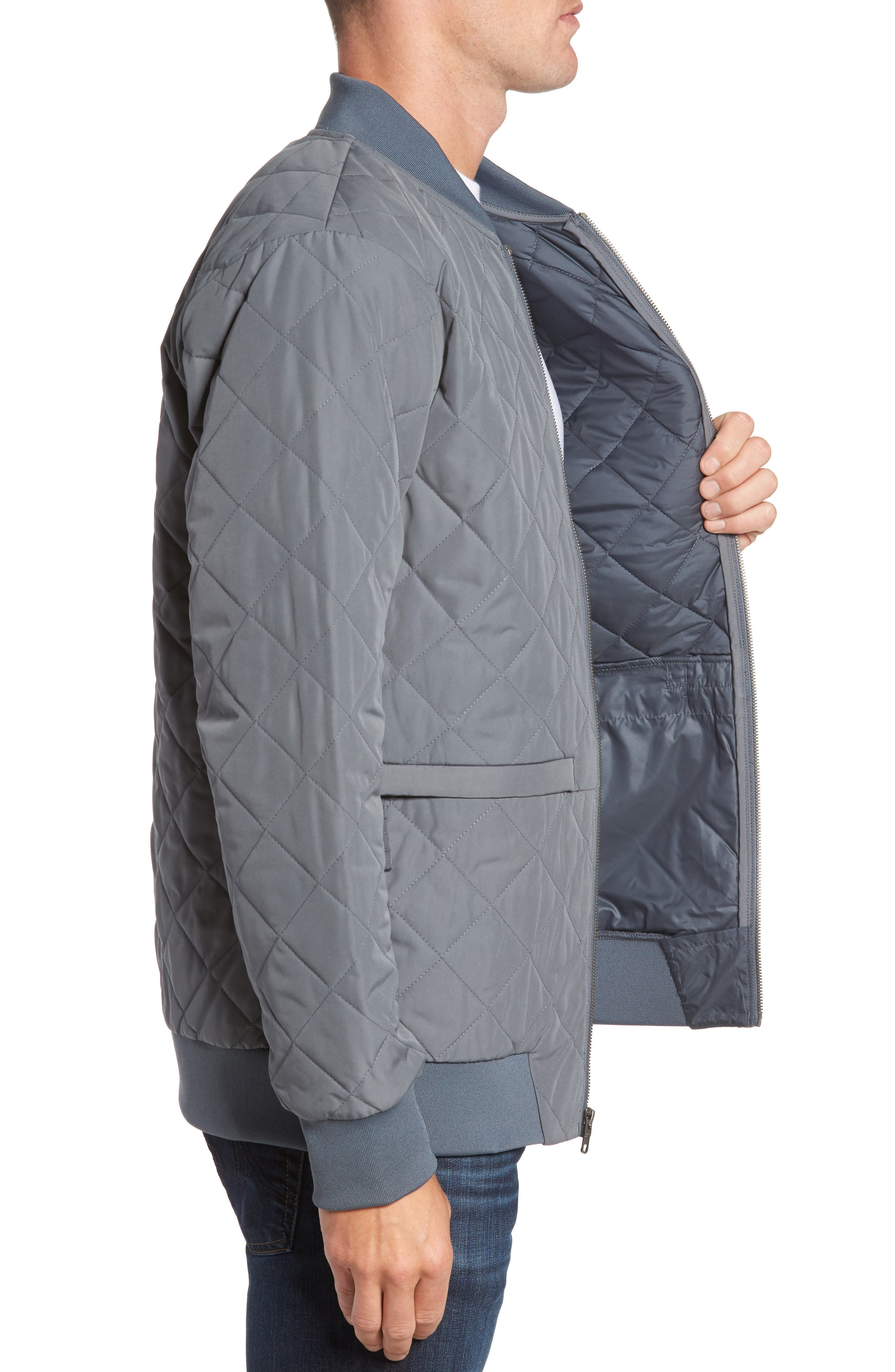 Alternate Image 3  - The North Face Distributor Quilted Bomber Jacket