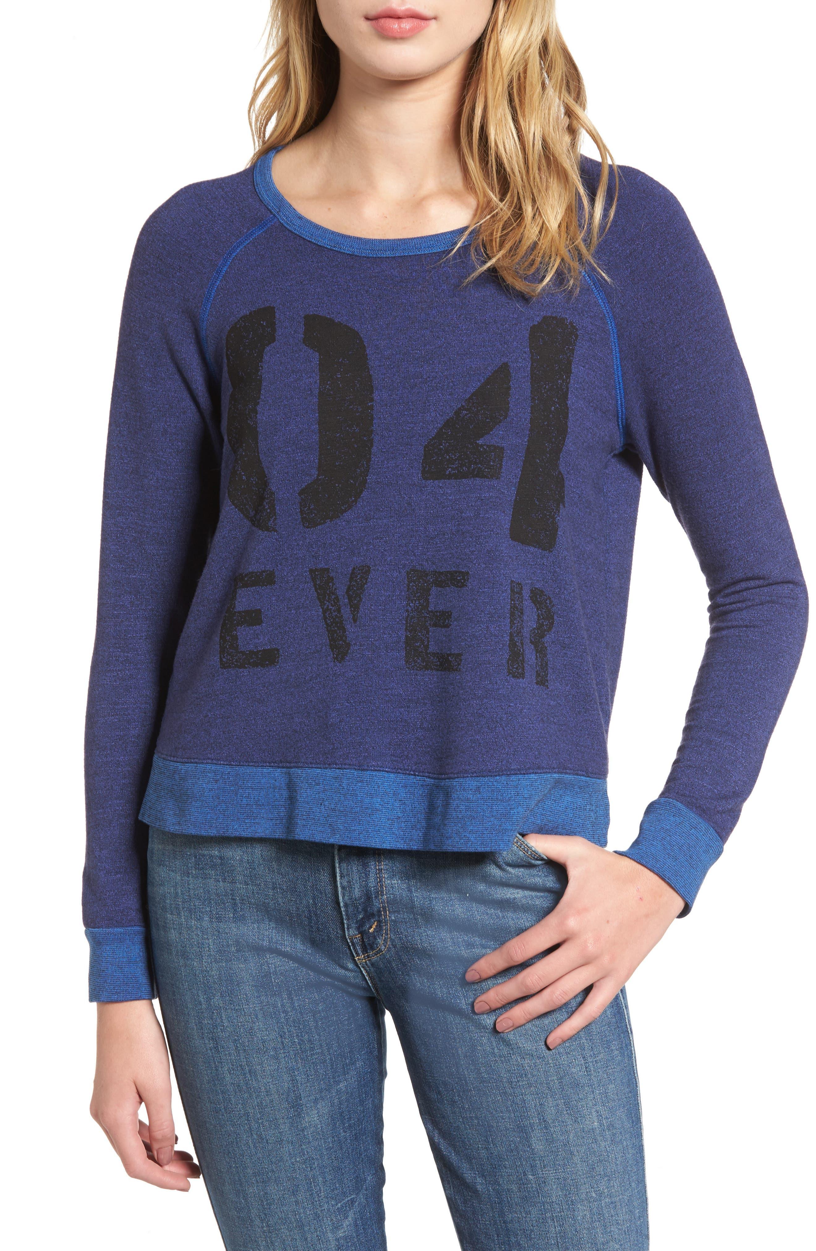 Alternate Image 1 Selected - Sundry Love Forever Sweatshirt