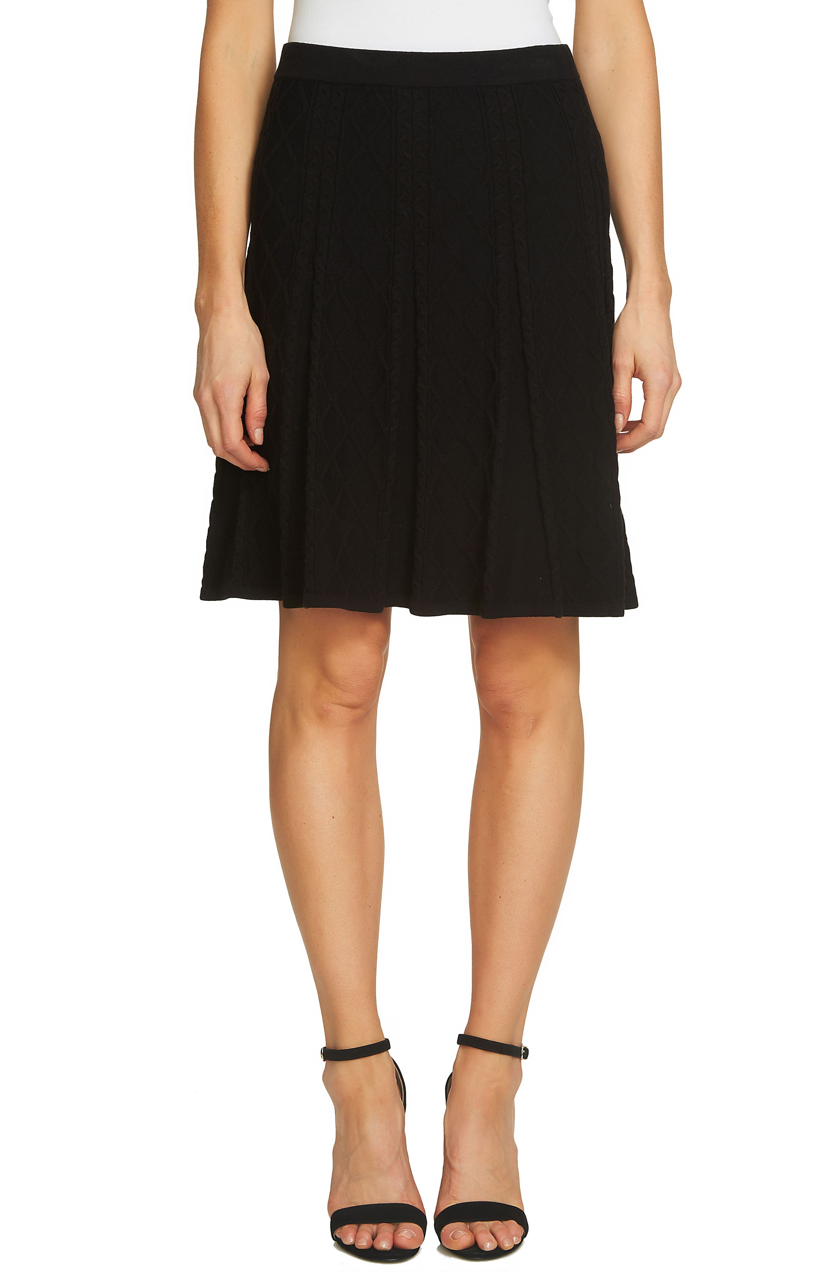 CeCe Jacquard Knit Skirt