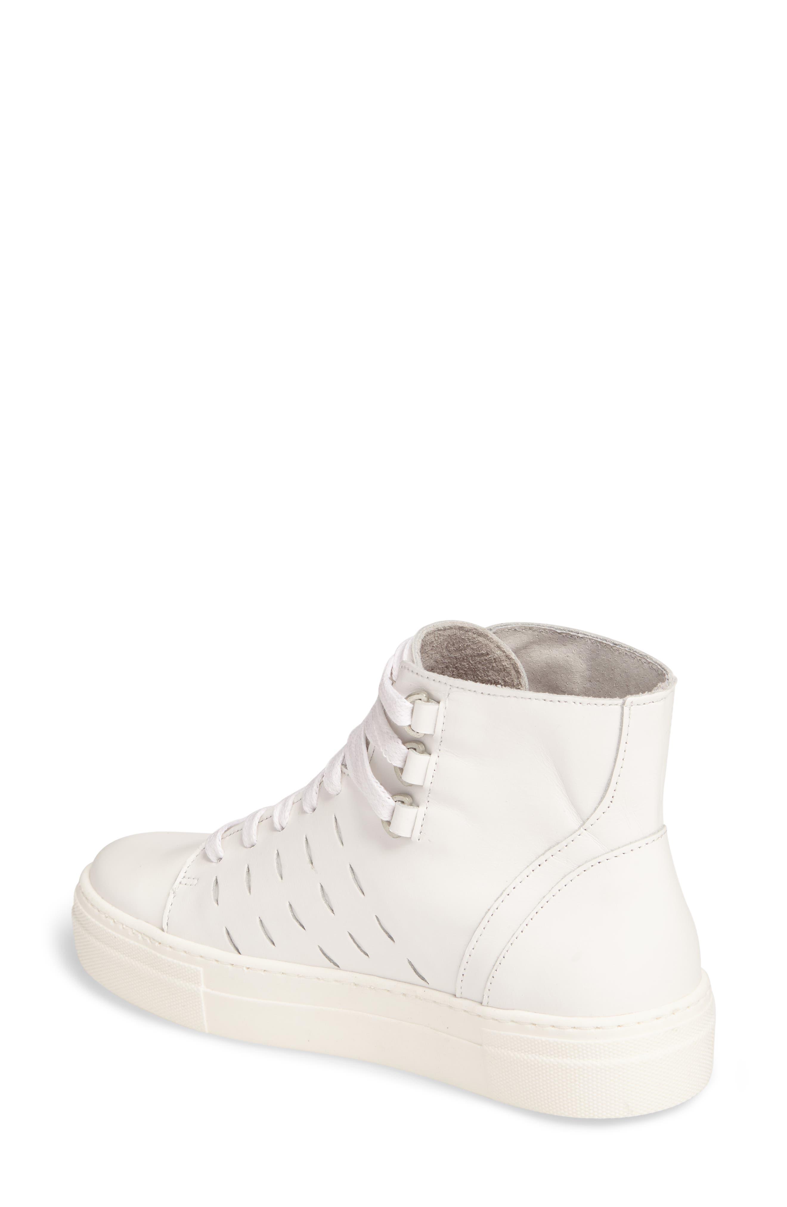 Alternate Image 2  - K-Swiss Modern High Top Sneaker (Women)