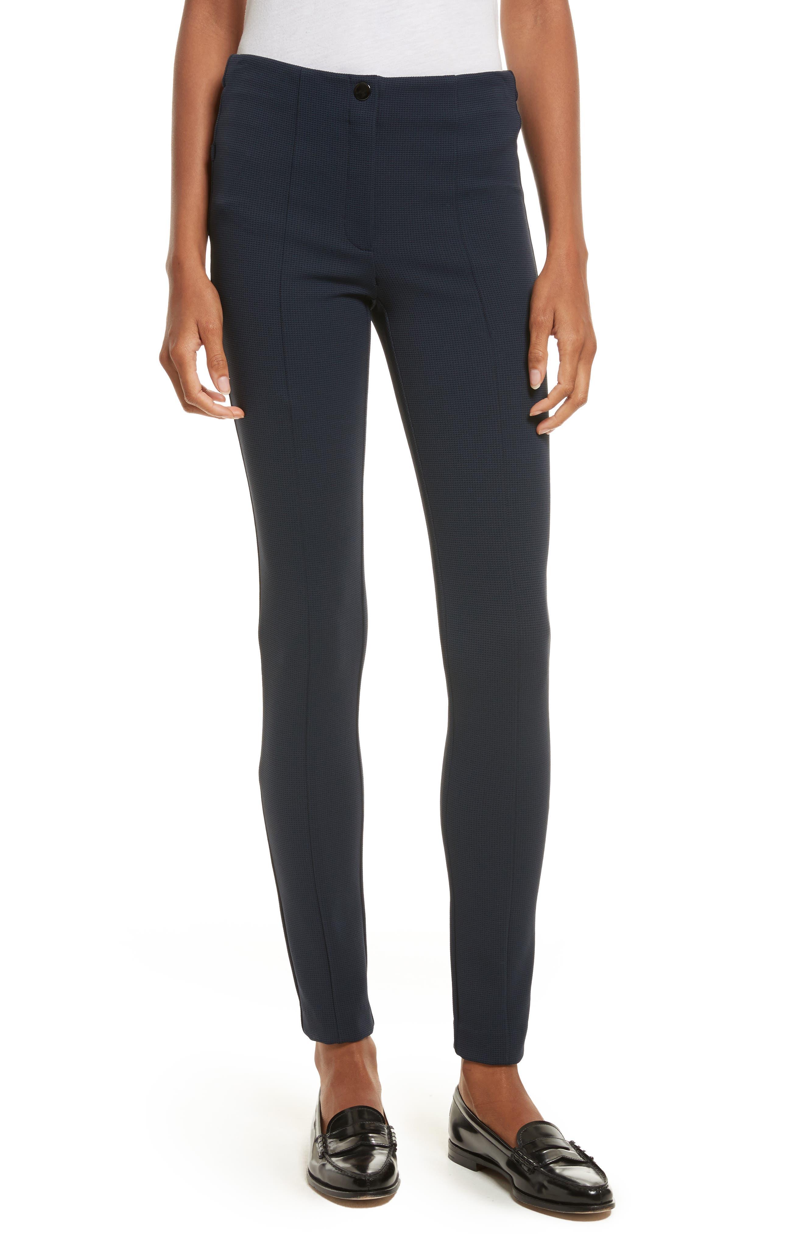 Tuscon Knit Cigarette Pants,                         Main,                         color, Deep Navy