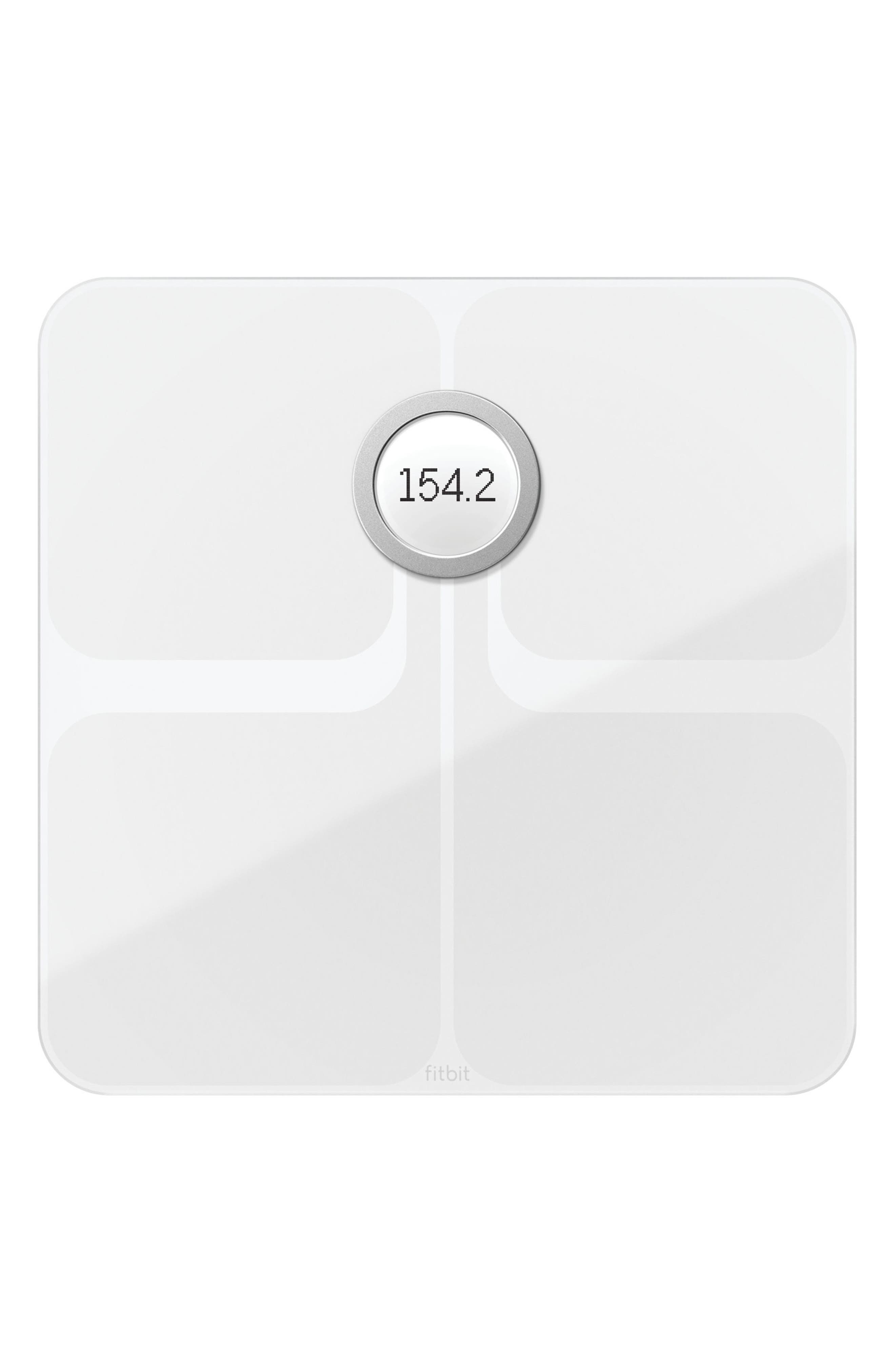 Aria 2 Wireless Smart Scale,                             Main thumbnail 1, color,                             White