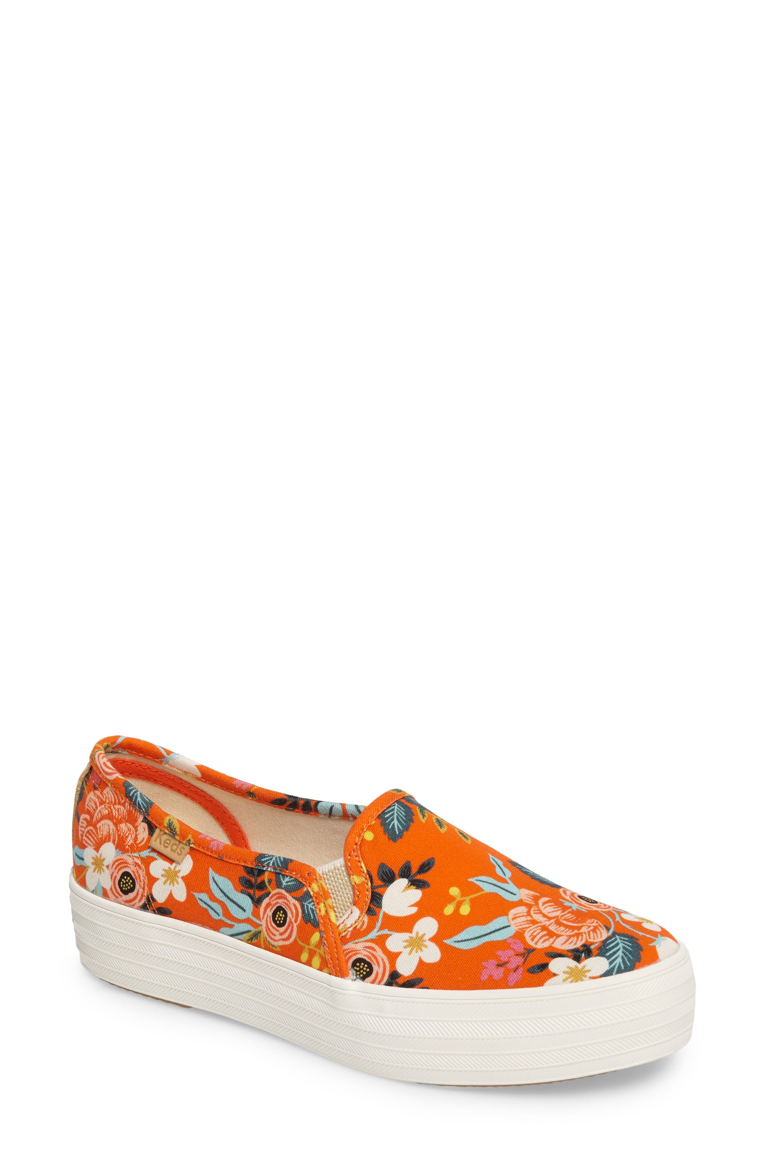 Keds® x Rifle Paper Co. Birch Triple Decker Slip-On Sneaker (Women)
