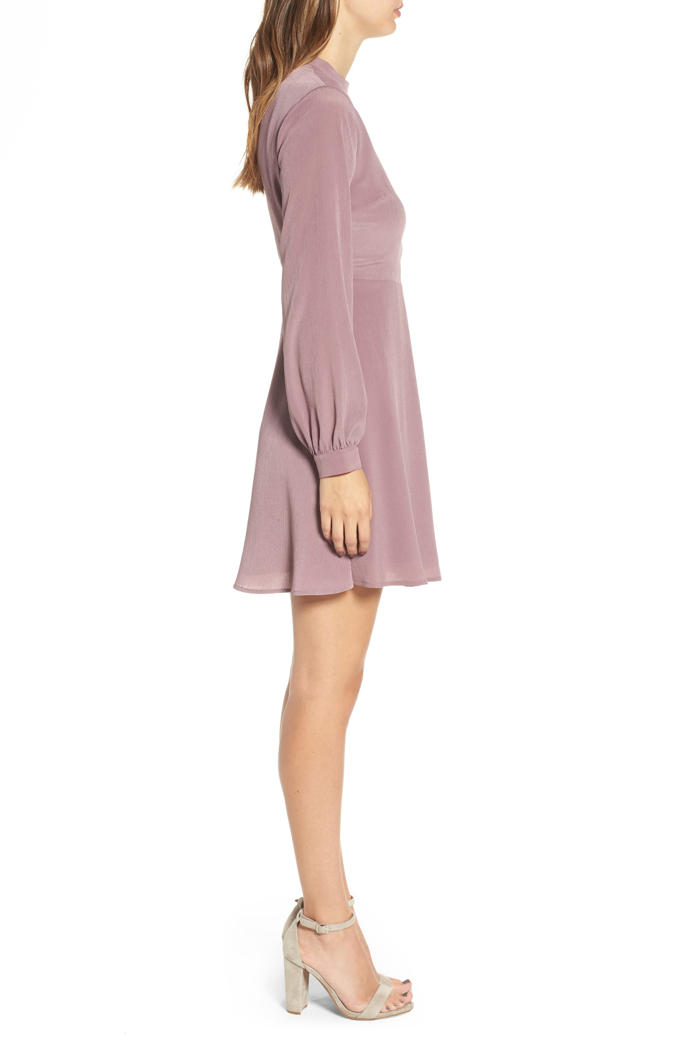 Alternate Image 3  - Choker Neck Wrap Dress