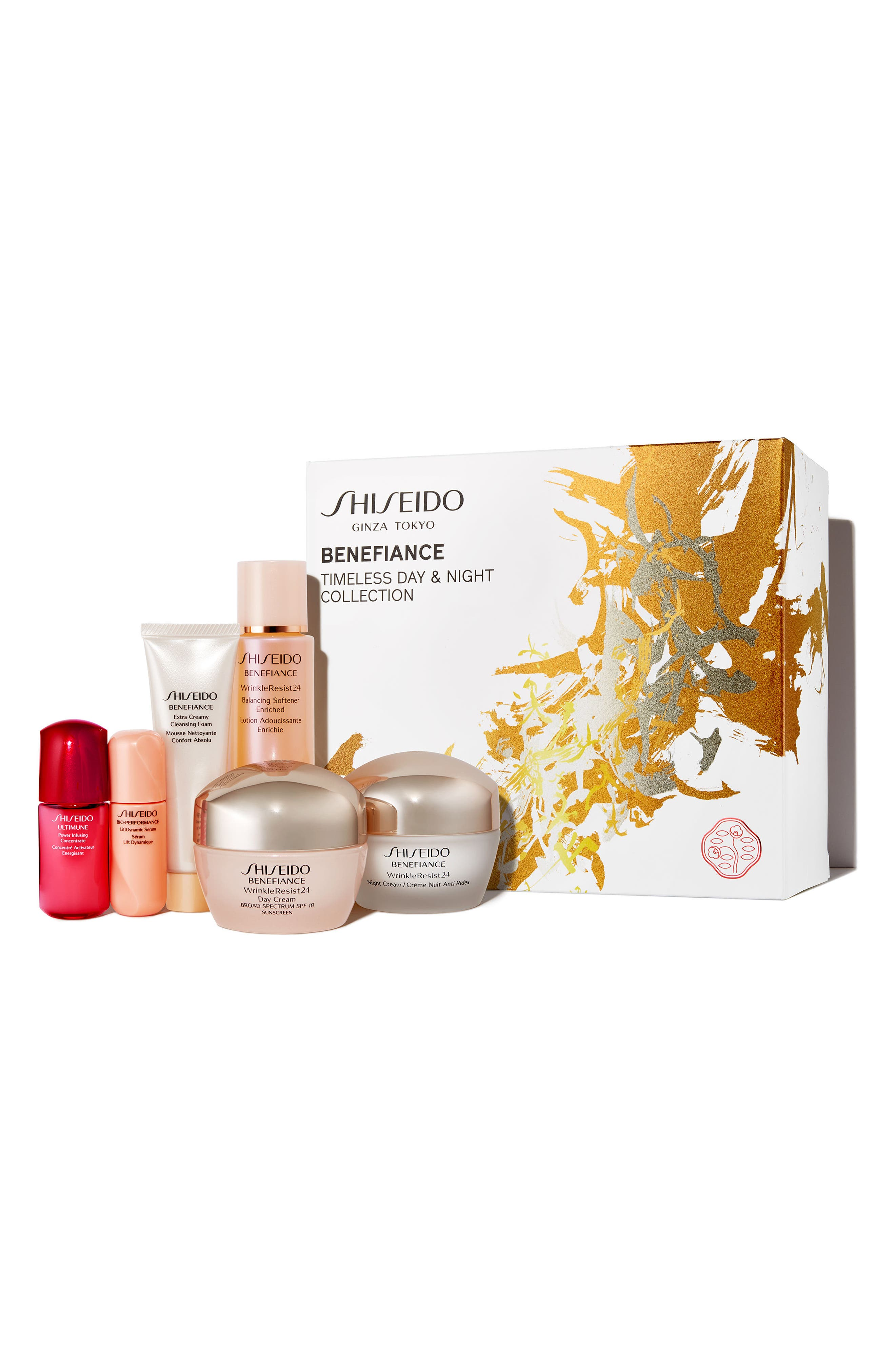 Alternate Image 1 Selected - Shiseido Timeless Day & Night Collection ($193 Value)