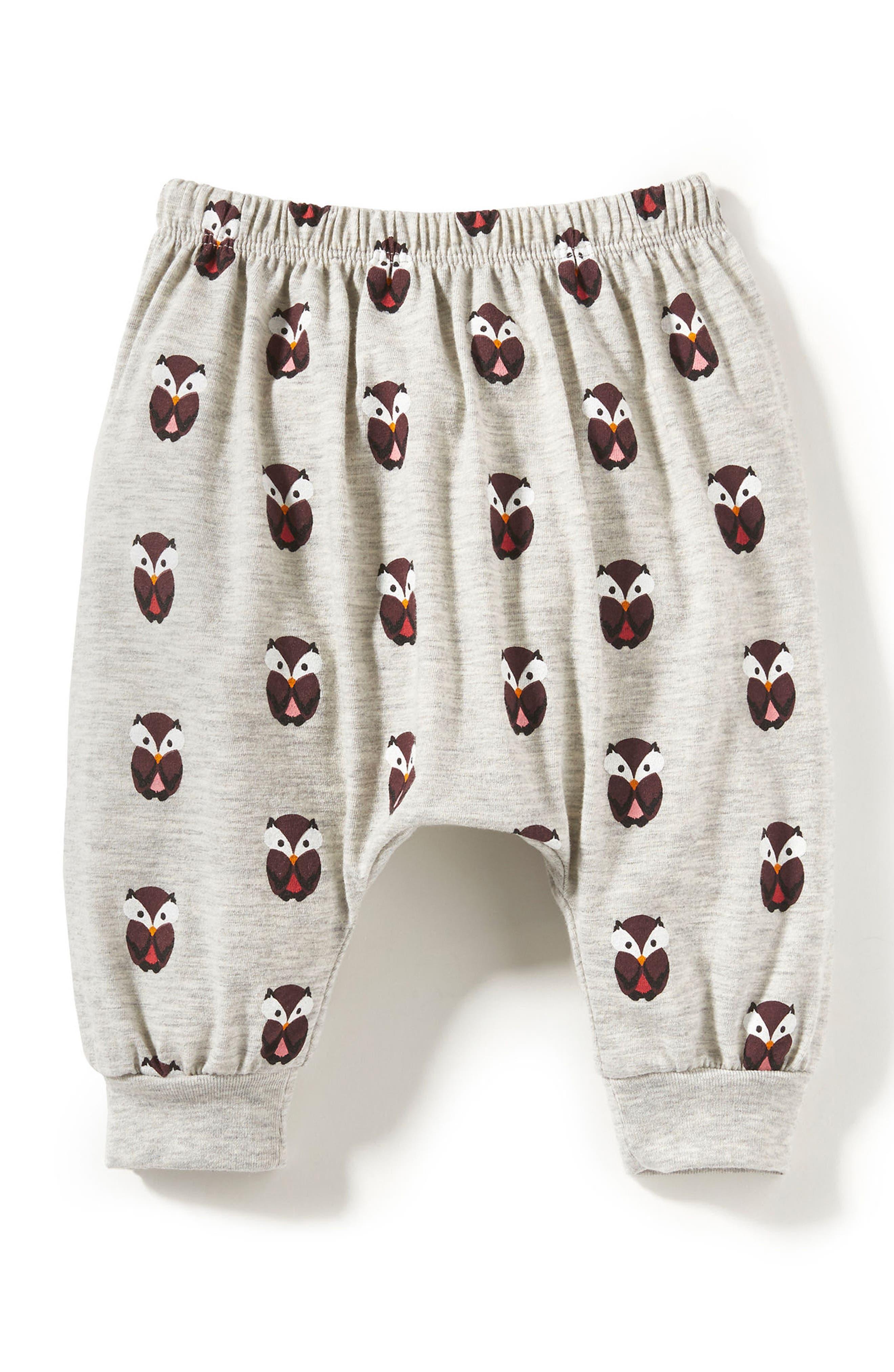 Peek Owl Sweatpants (Baby Girls)