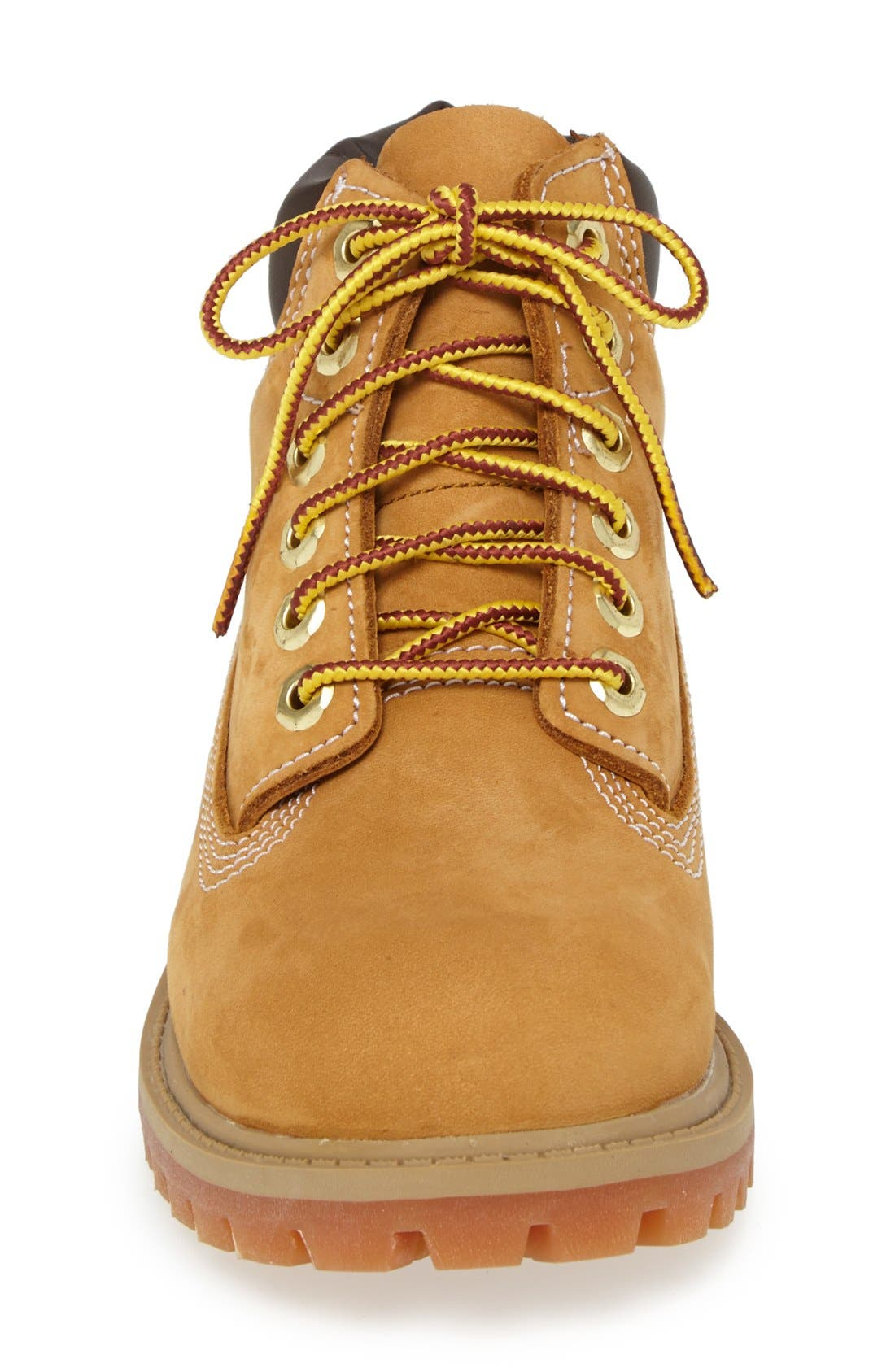 '6 Inch Premium' Waterproof Boot,                             Alternate thumbnail 3, color,                             Wheat Nubuck