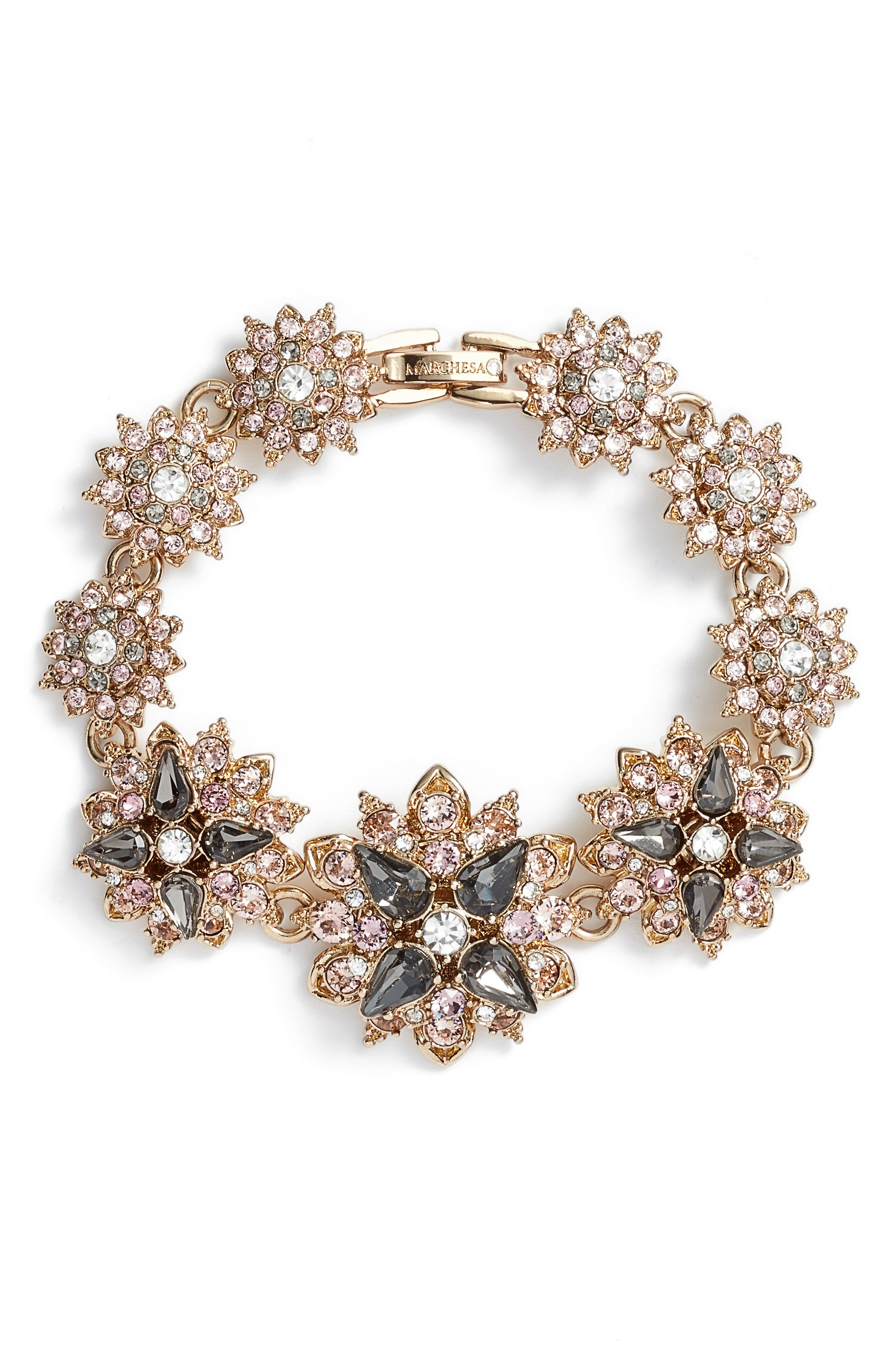 Alternate Image 1 Selected - Marchesa Crystal Bracelet