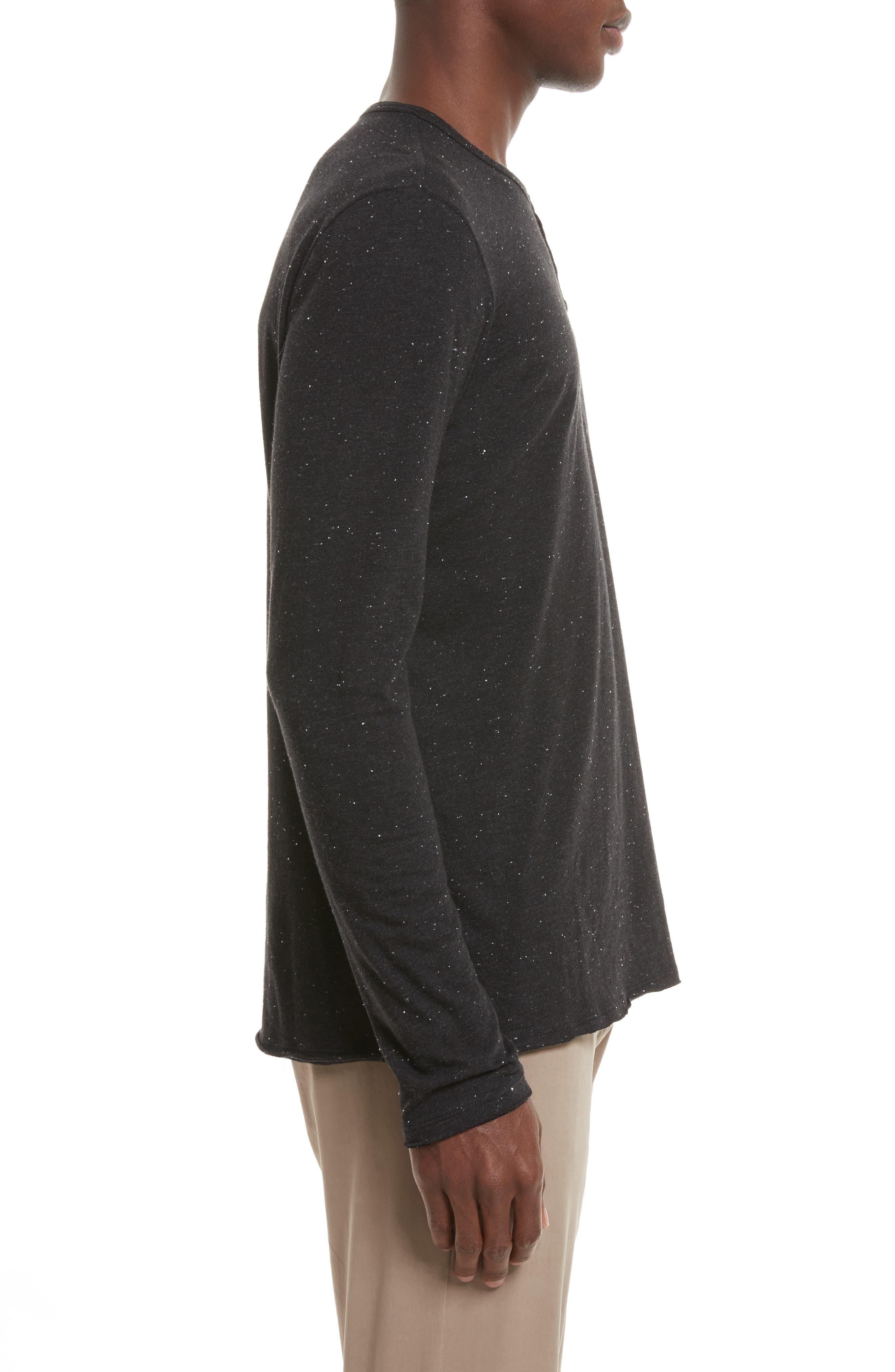 Alternate Image 3  - ATM Anthony Thomas Melillo Long Sleeve Pocket Henley T-Shirt