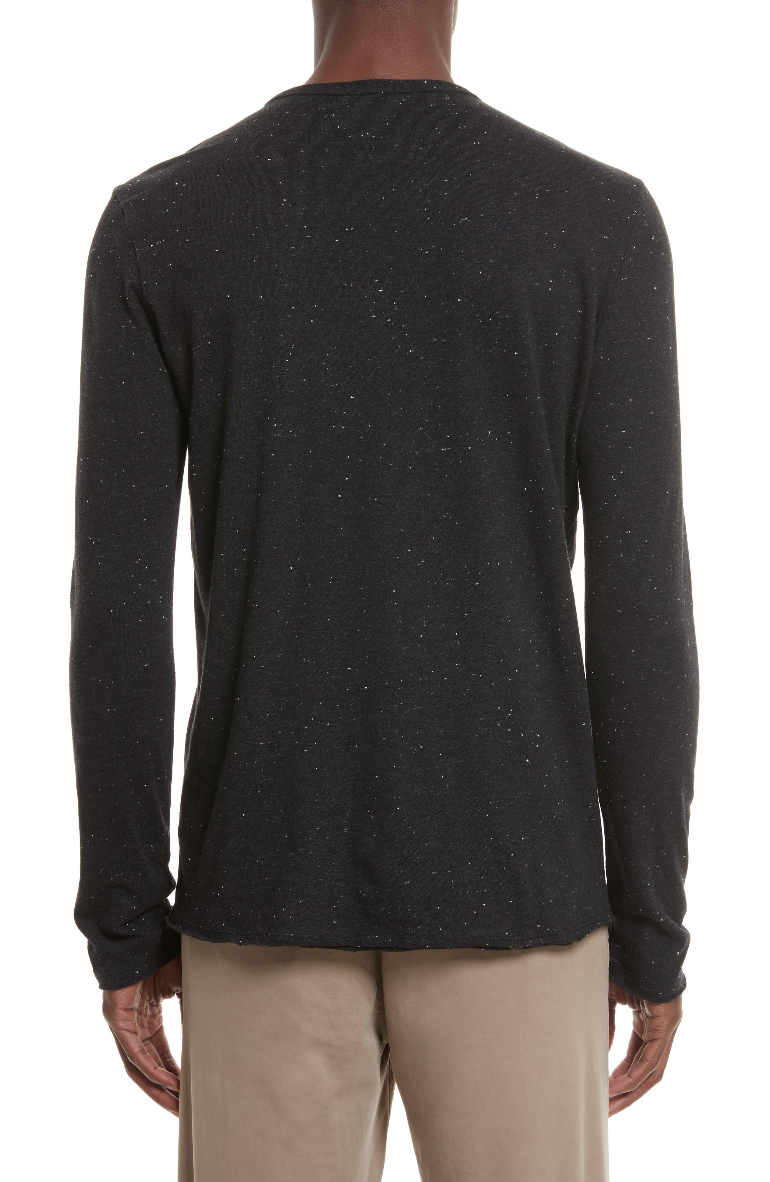 Alternate Image 2  - ATM Anthony Thomas Melillo Long Sleeve Pocket Henley T-Shirt