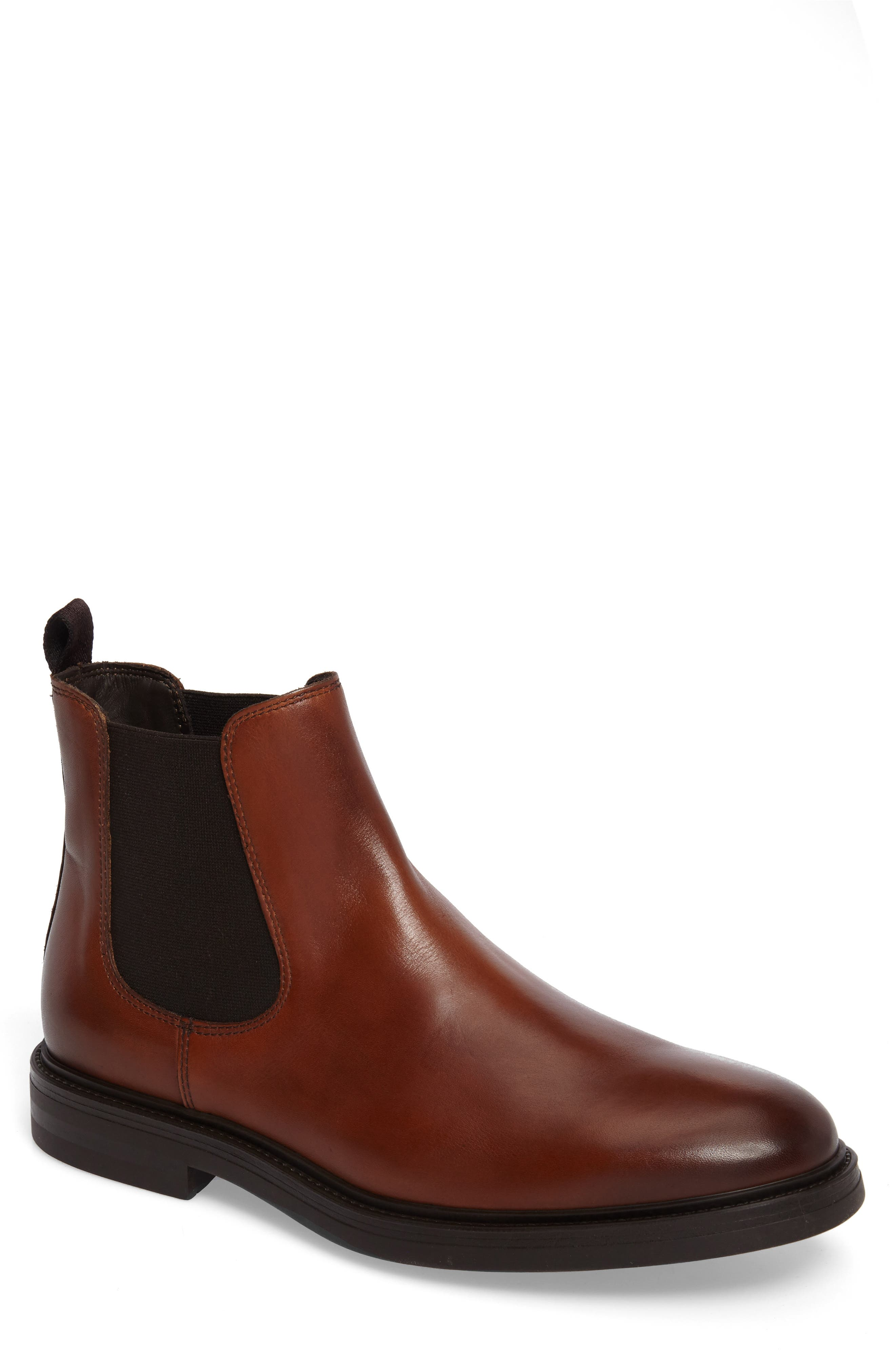 Chelsea Boot,                             Main thumbnail 1, color,                             Caramel