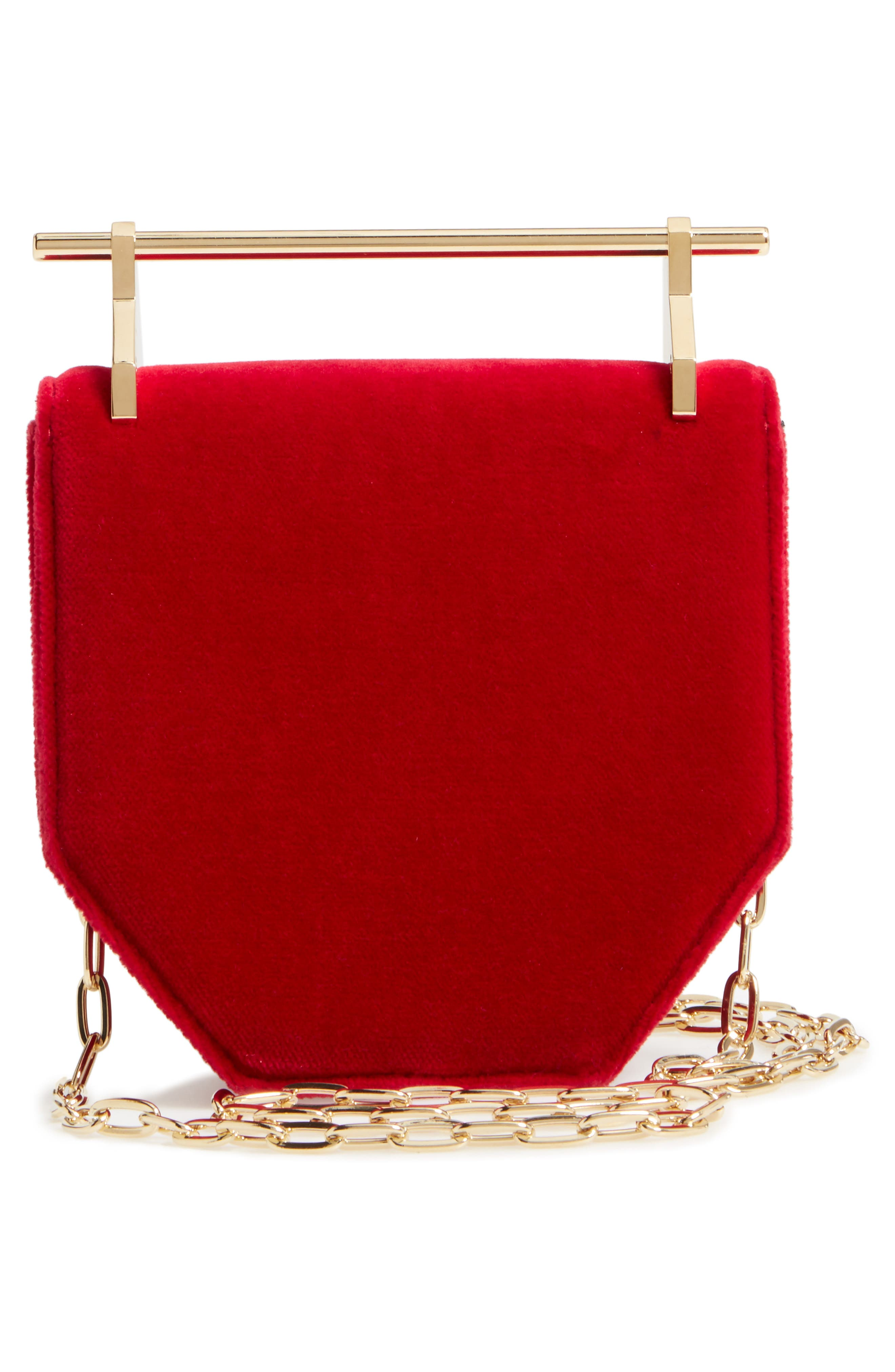 Alternate Image 3  - M2Malletier Mini Amor Fati Velvet Shoulder Bag
