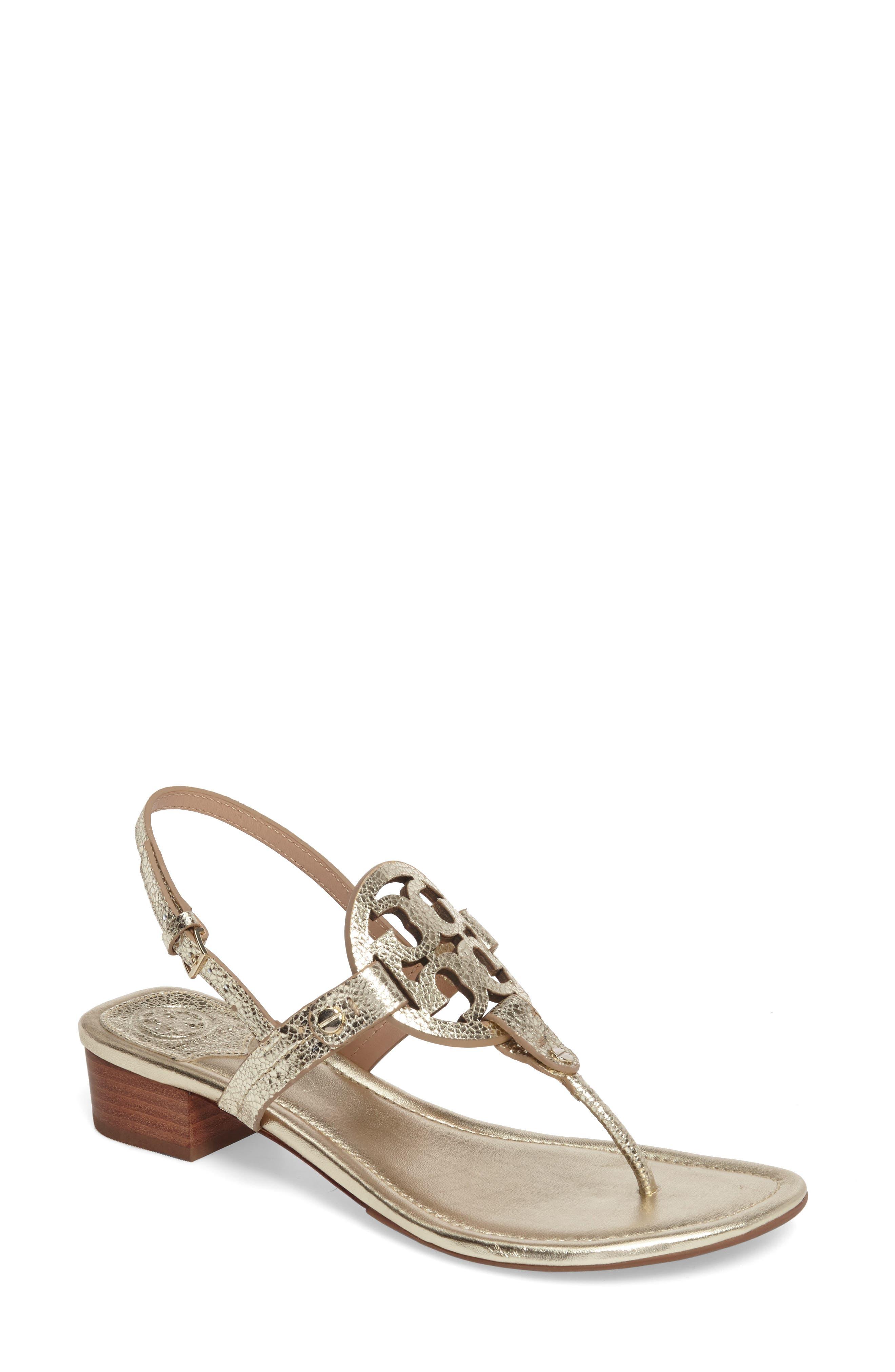 Tory Burch Miller Logo Sandal (Women)